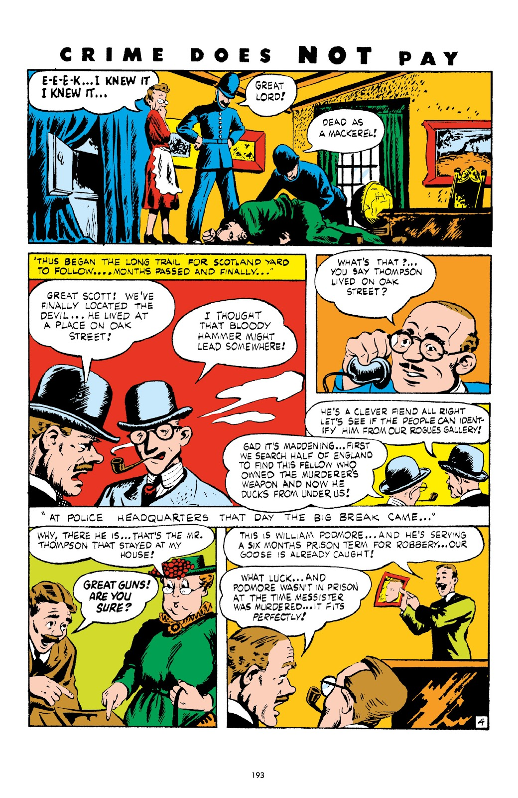 Read online Crime Does Not Pay Archives comic -  Issue # TPB 4 (Part 2) - 93
