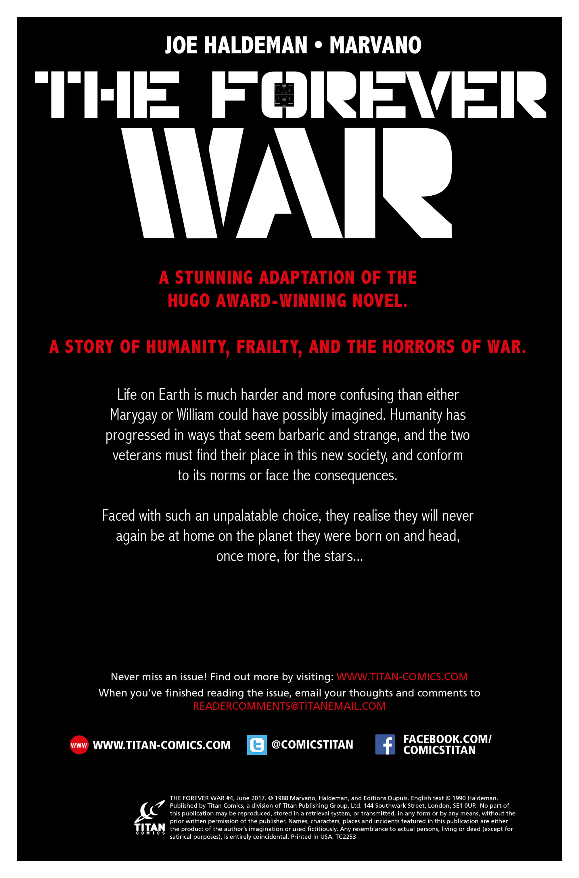 Read online The Forever War (2017) comic -  Issue #4 - 4