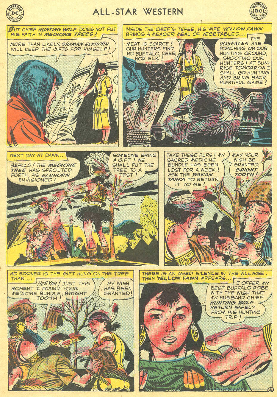 Read online All-Star Western (1951) comic -  Issue #92 - 12