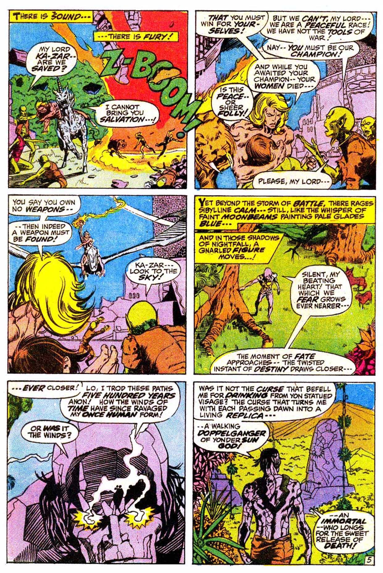 Read online Astonishing Tales (1970) comic -  Issue #4 - 16