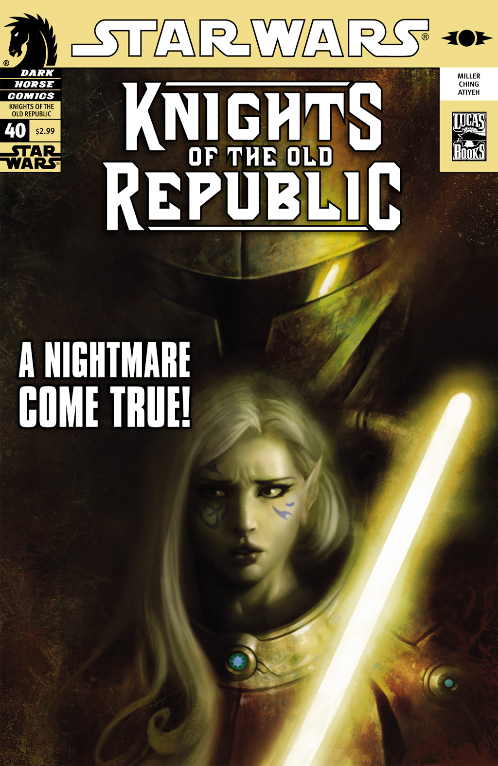 Star Wars: Knights Of The Old Republic issue 40 - Page 1