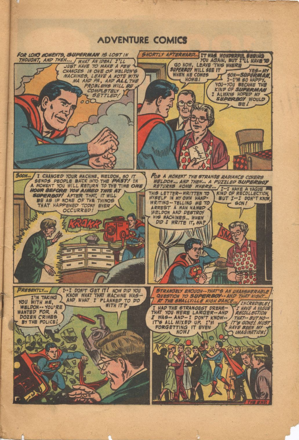 Read online Adventure Comics (1938) comic -  Issue #320 - 33