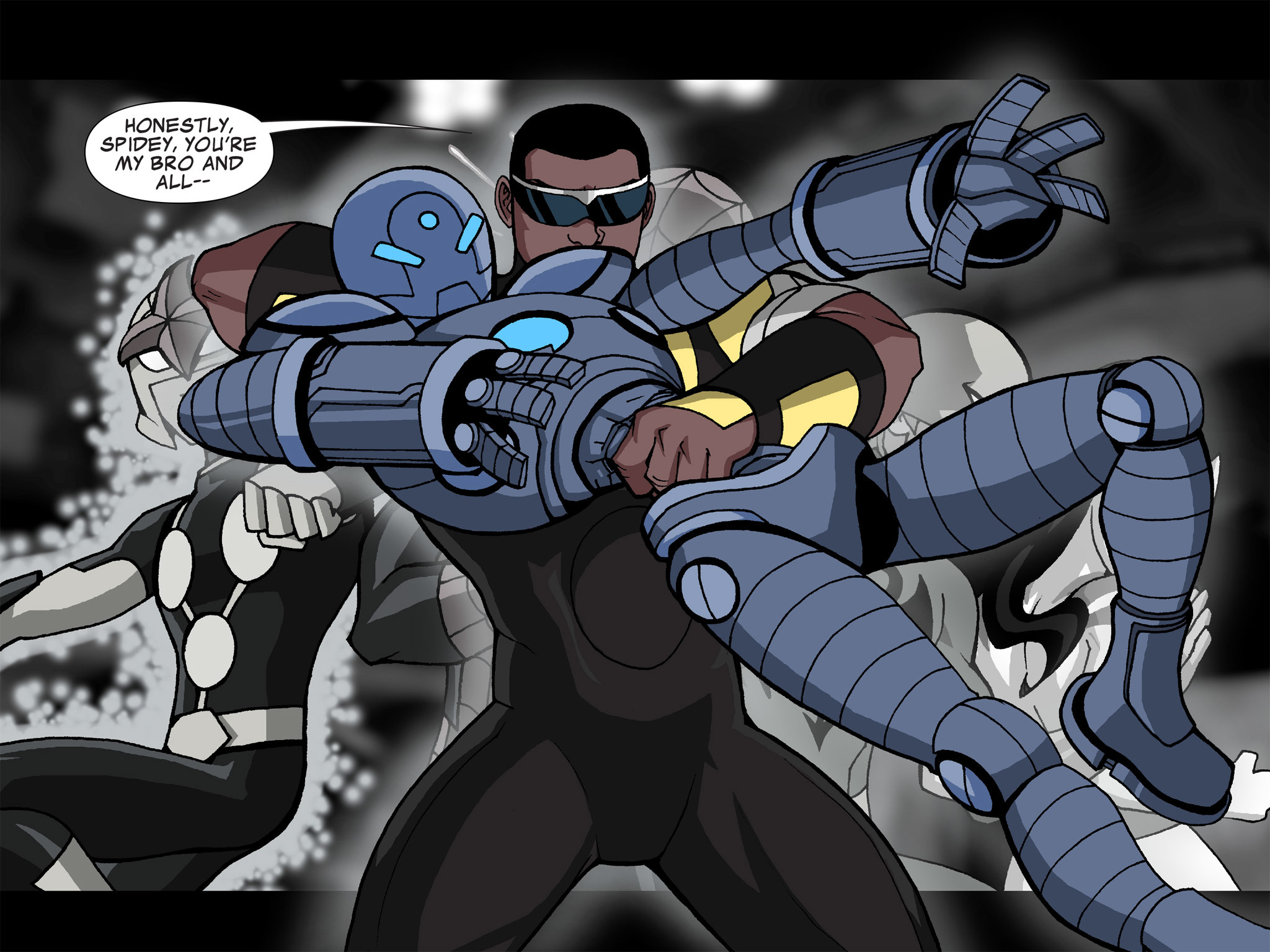 Read online Ultimate Spider-Man (Infinite Comics) (2015) comic -  Issue #21 - 14