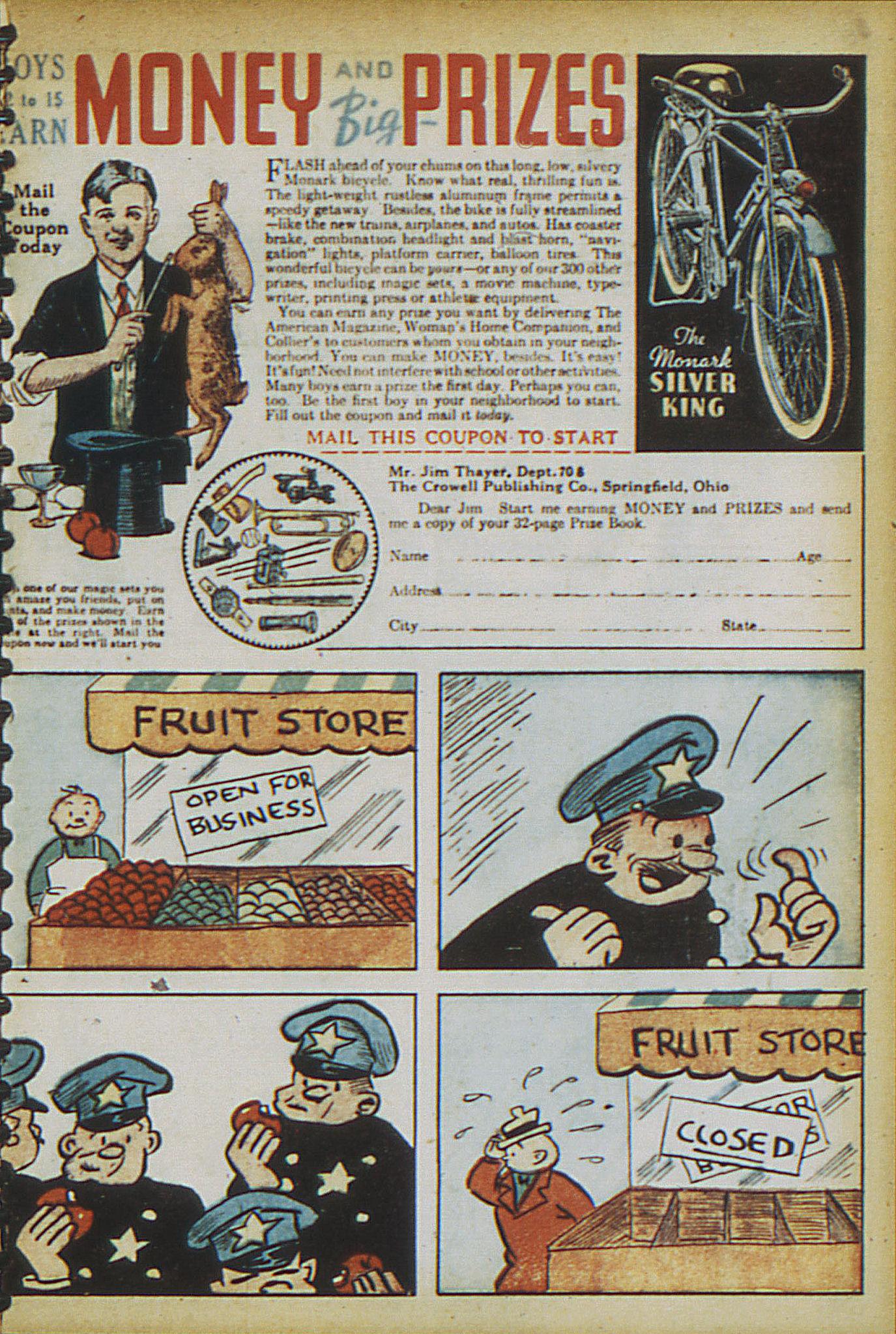 Read online Adventure Comics (1938) comic -  Issue #15 - 9