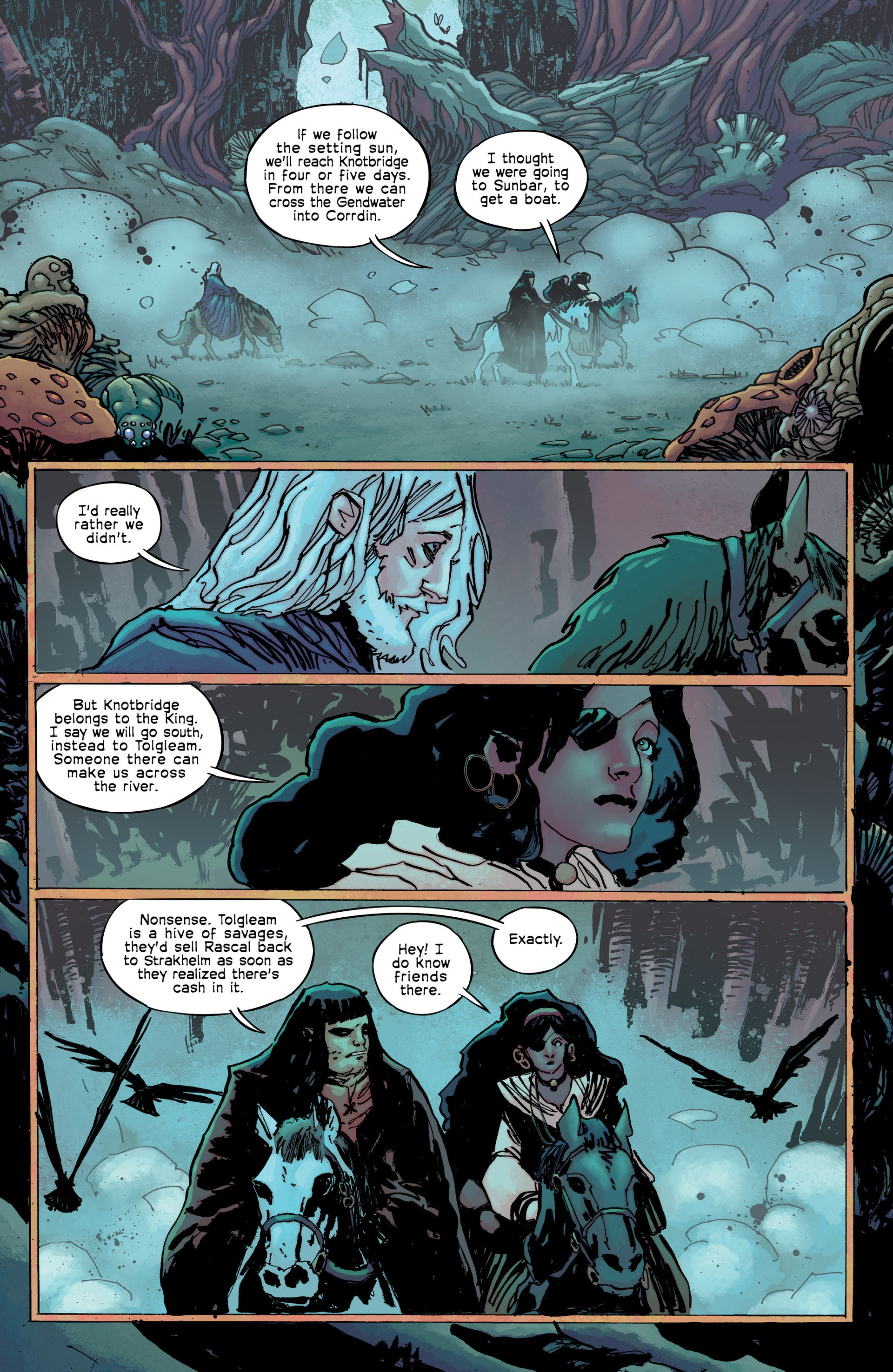 Read online Umbral comic -  Issue #8 - 9
