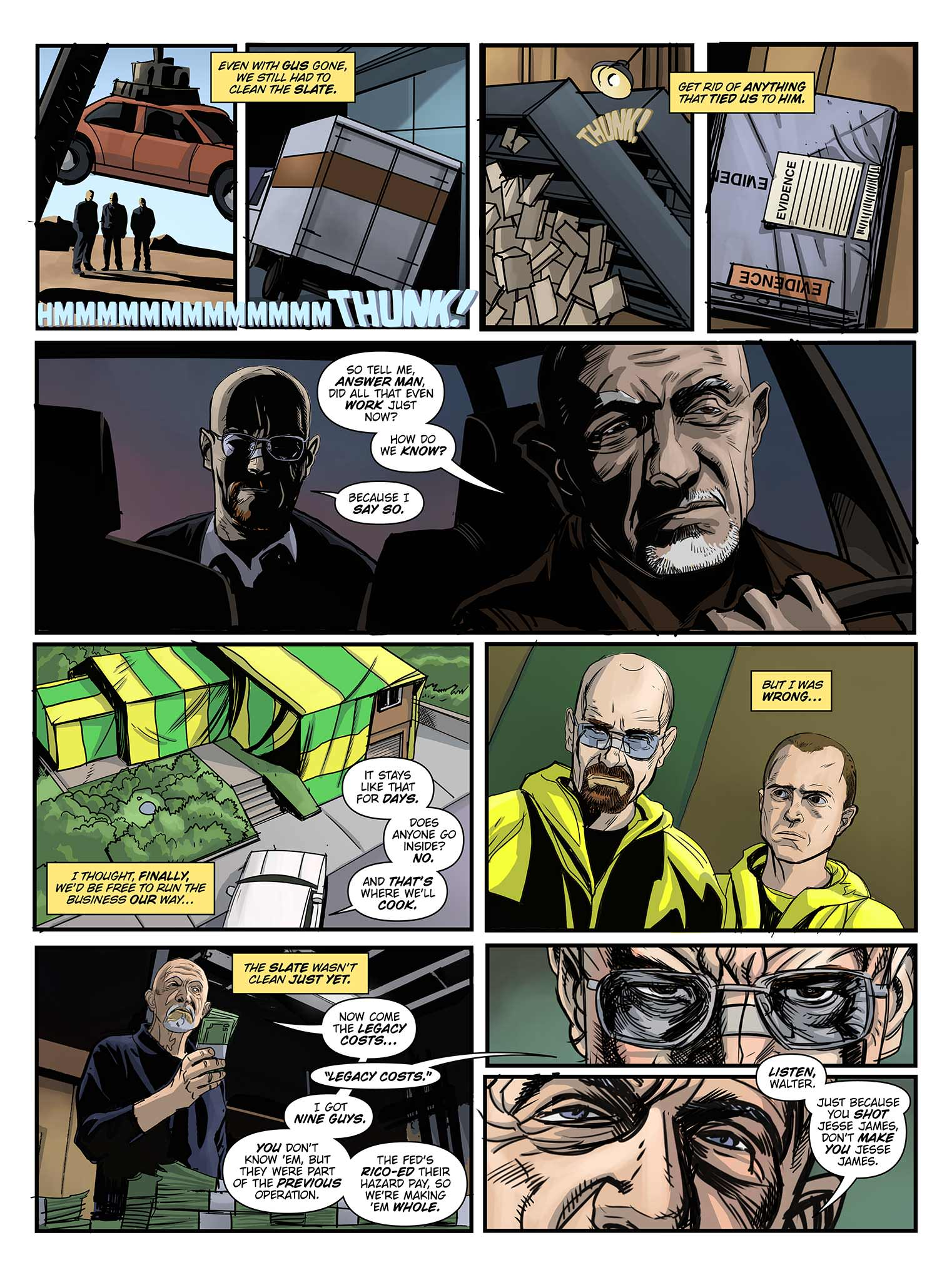 Read online Breaking Bad: All Bad Things comic -  Issue # Full - 18