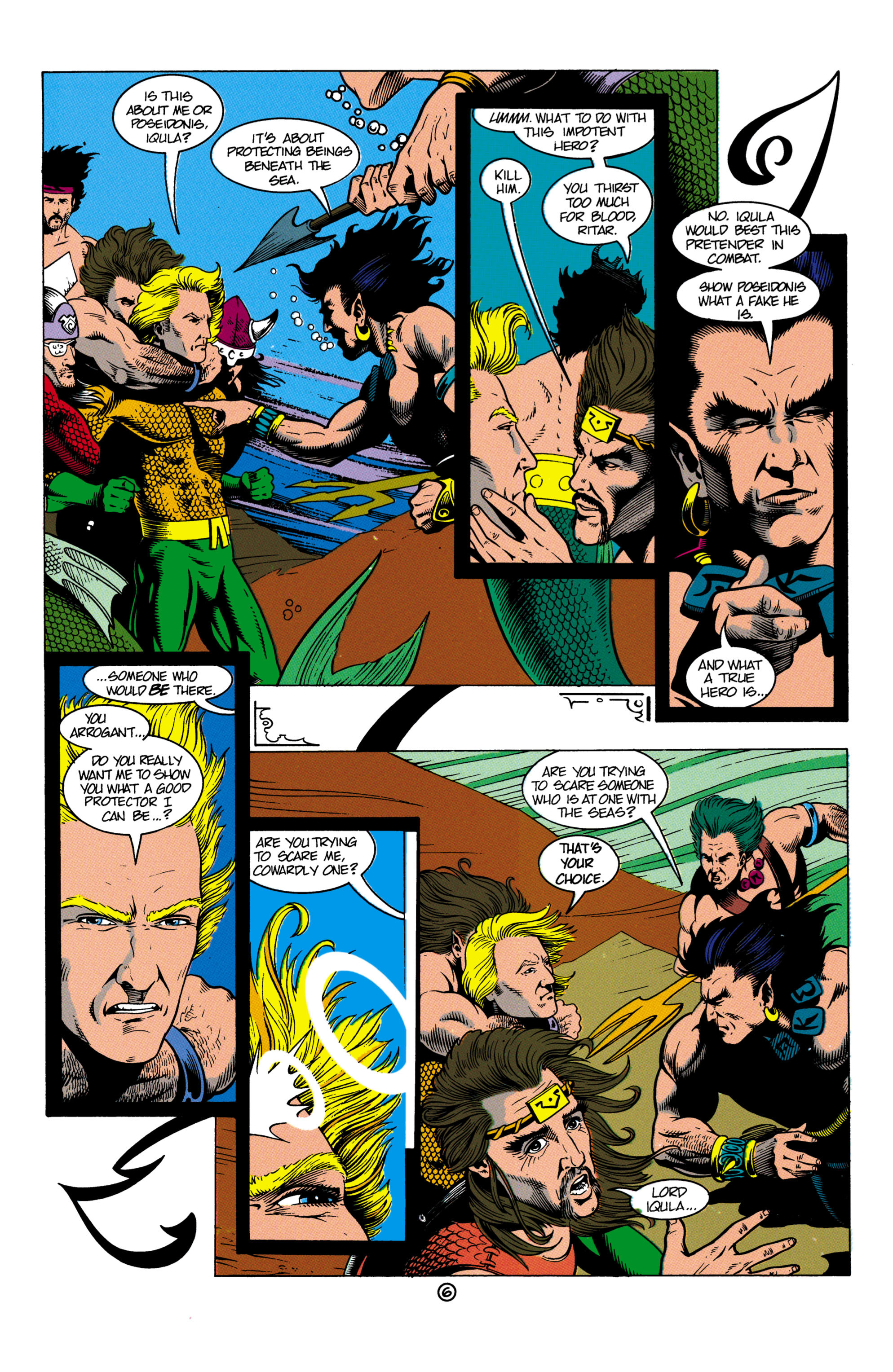 Read online Aquaman (1991) comic -  Issue #4 - 7