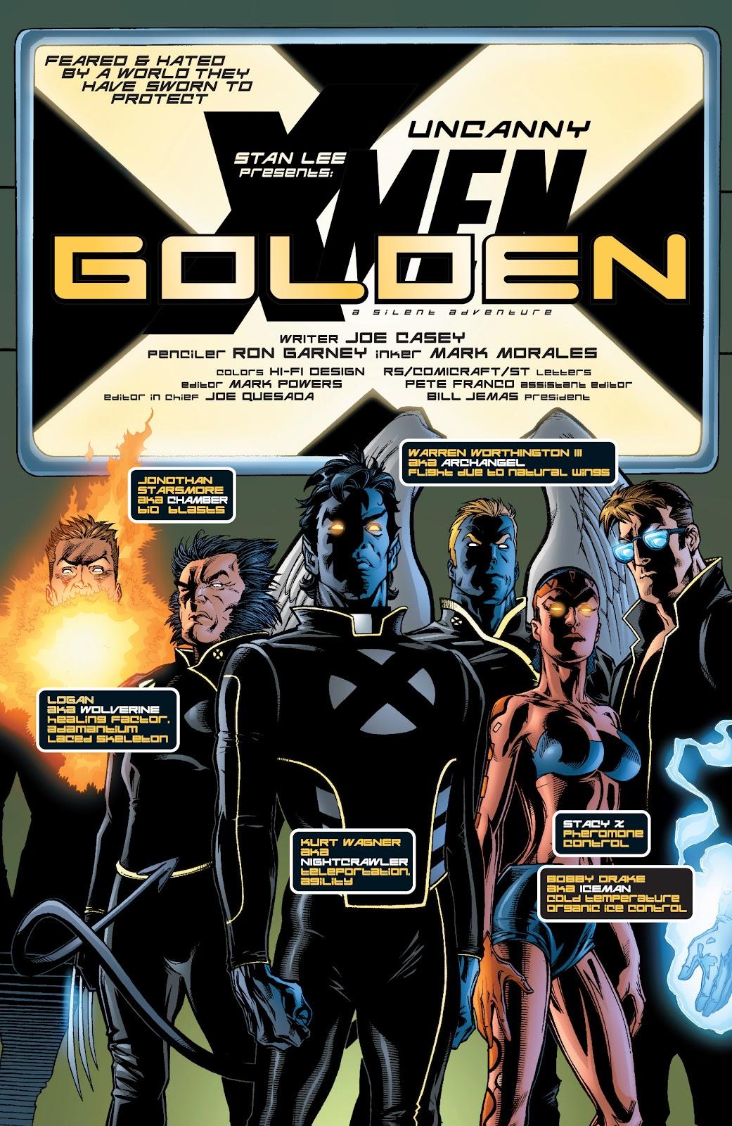 Uncanny X-Men (1963) issue 401 - Page 4