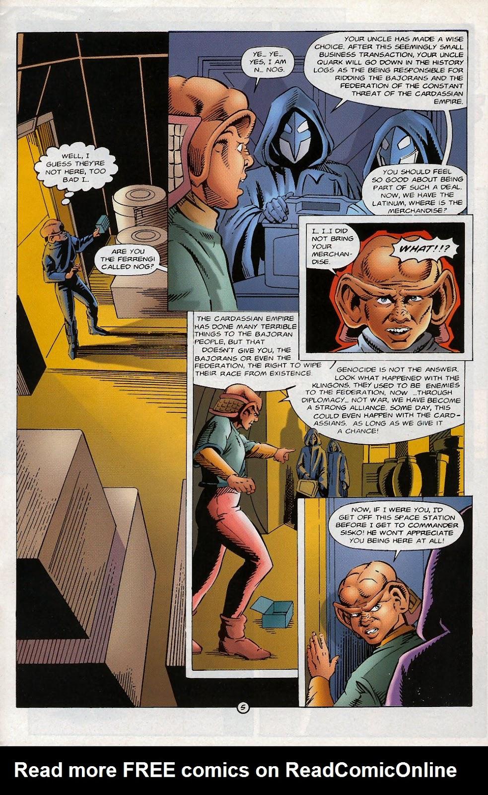Read online Star Trek: Deep Space Nine (1993) comic -  Issue # _Special 1 - 40