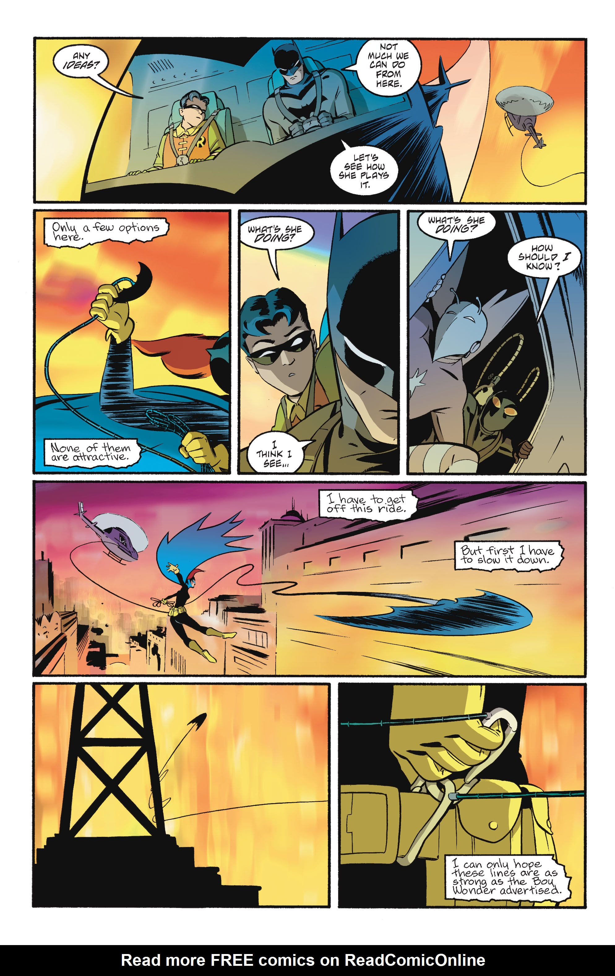Read online Batgirl/Robin: Year One comic -  Issue # TPB 2 - 183