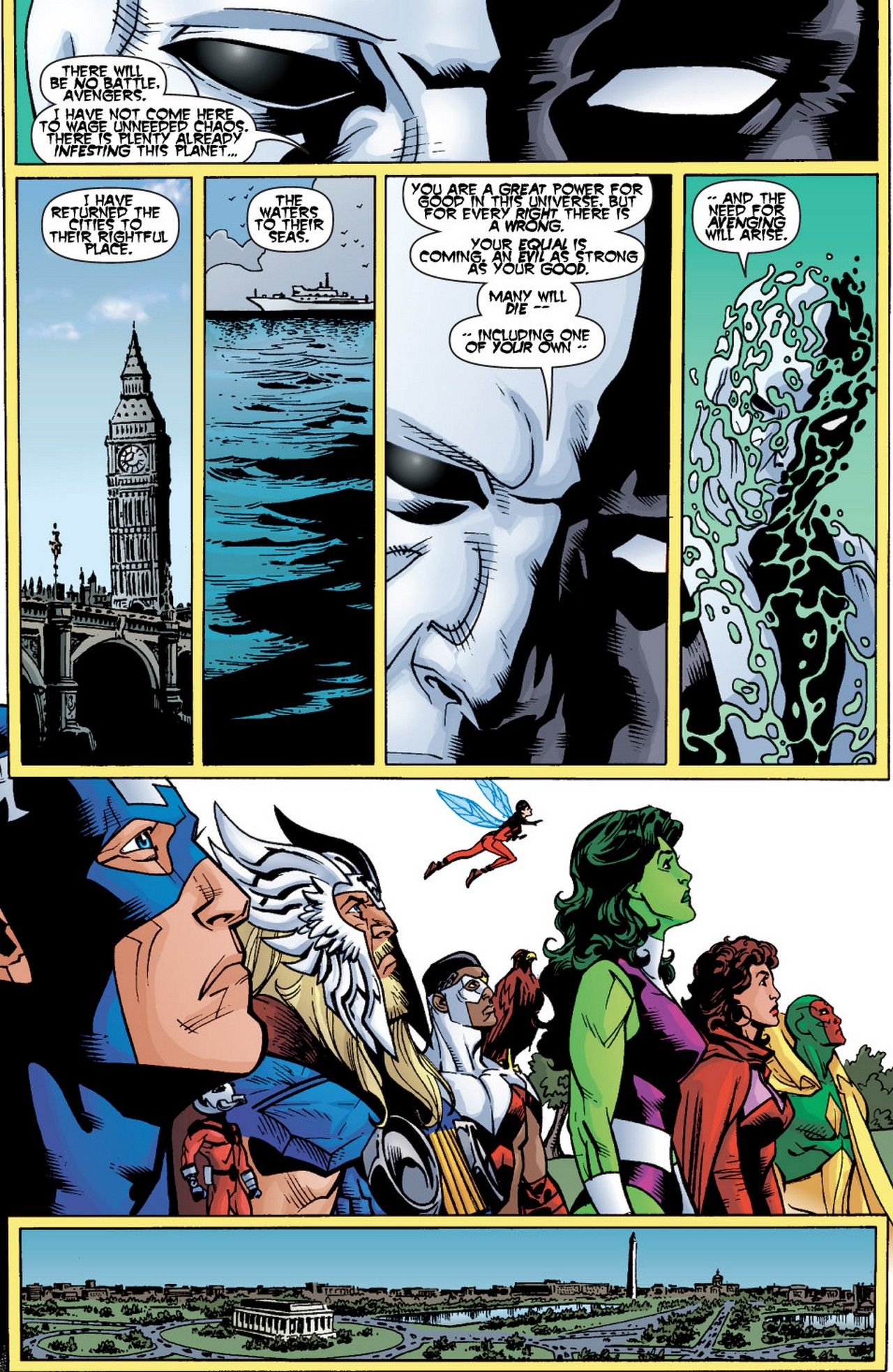 Read online Avengers (1998) comic -  Issue #60 - 23