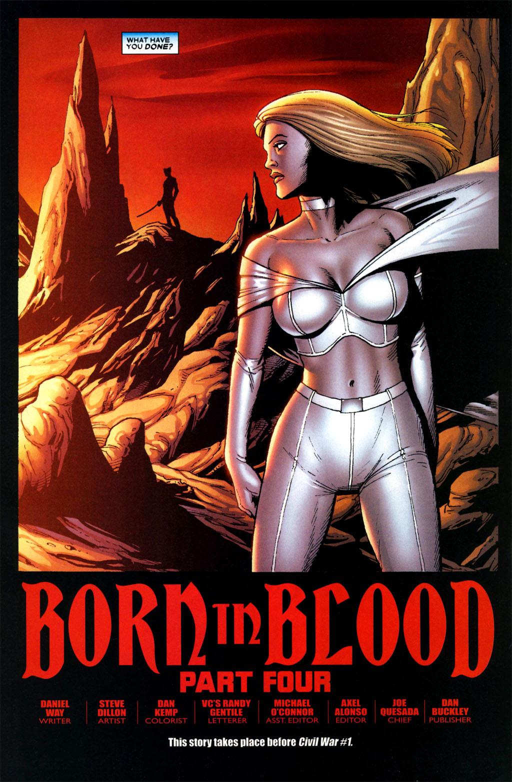 Read online Wolverine: Origins comic -  Issue #4 - 6