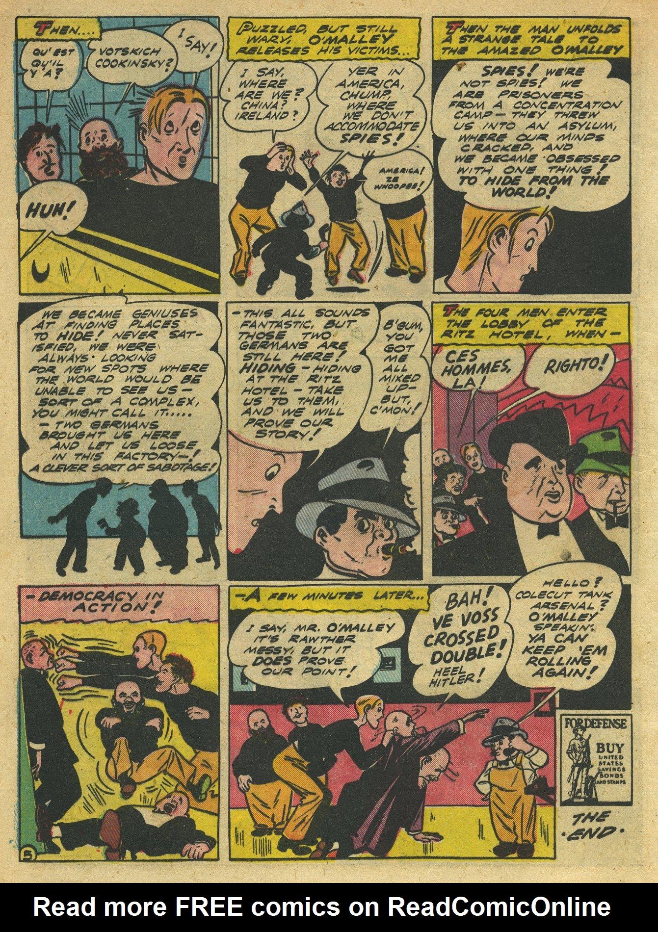 Read online Sensation (Mystery) Comics comic -  Issue #10 - 36