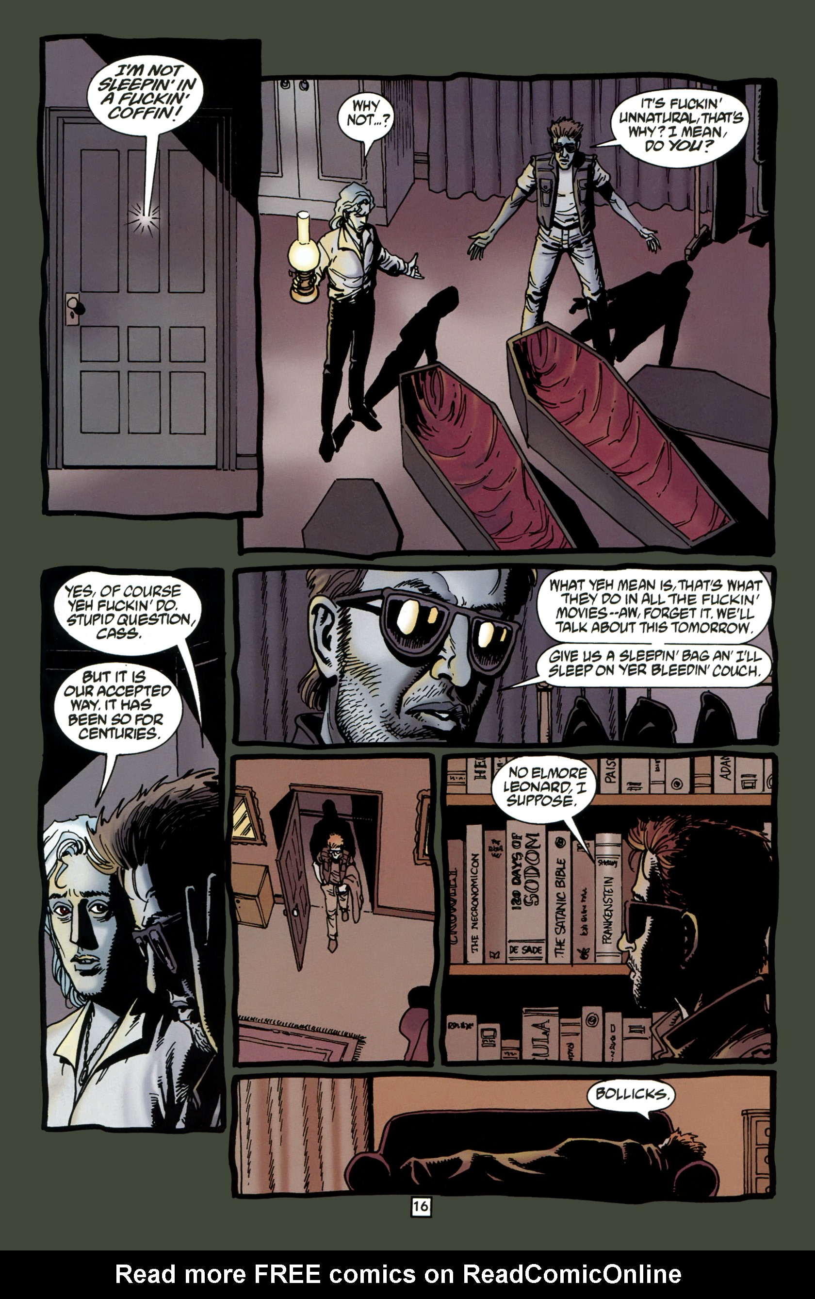 Read online Preacher Special: Cassidy : Blood and Whiskey comic -  Issue # Full - 18