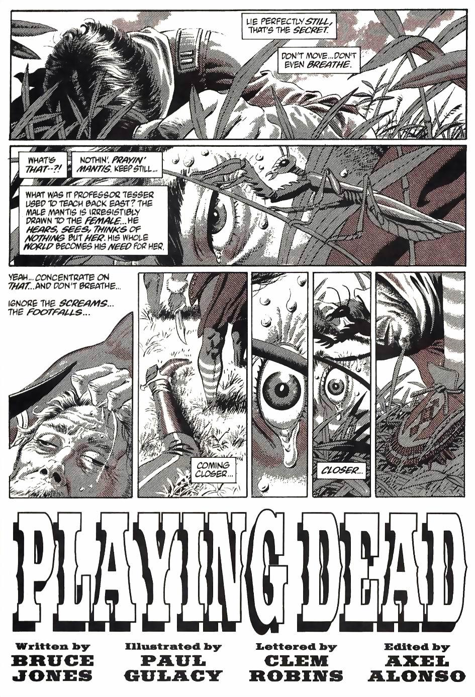 Read online Flinch comic -  Issue #4 - 14