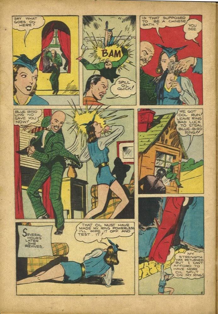 Read online Amazing Man Comics comic -  Issue #25 - 56