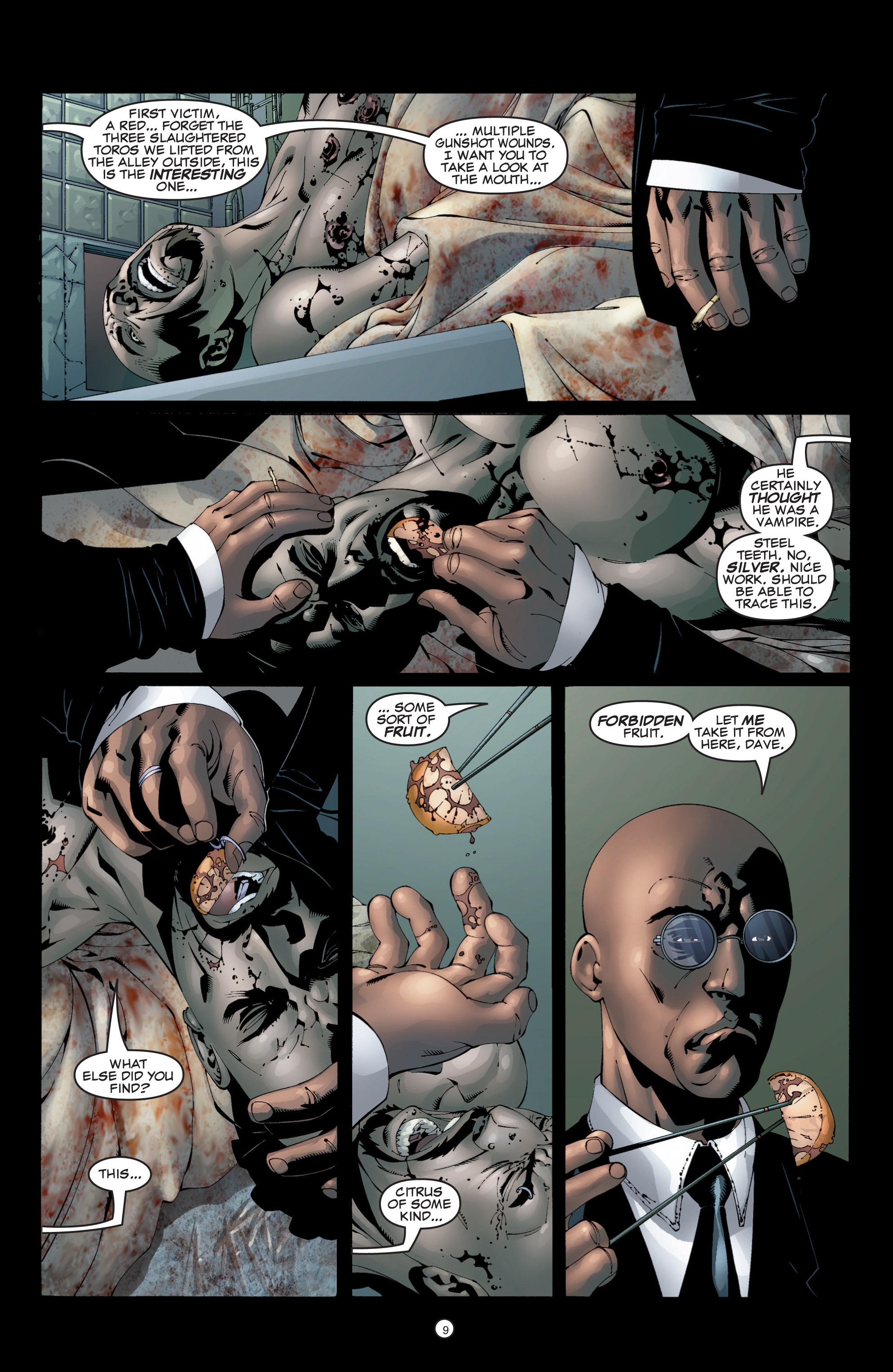 Read online Shadowman (1999) comic -  Issue #5 - 11