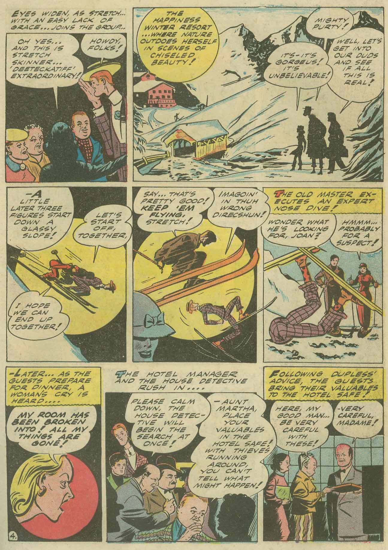 Read online Sensation (Mystery) Comics comic -  Issue #9 - 59