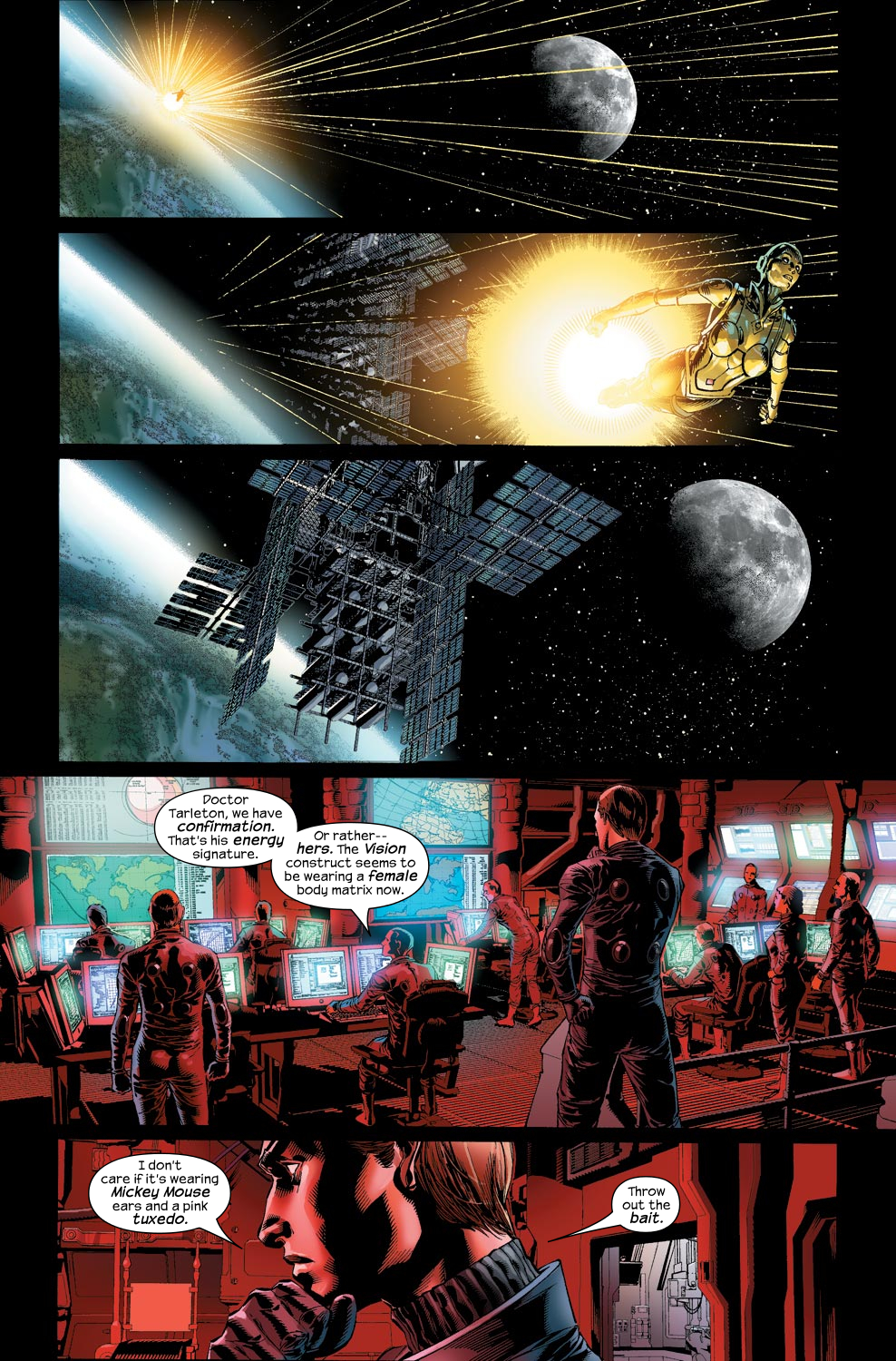 Read online Ultimate Vision comic -  Issue #1 - 8