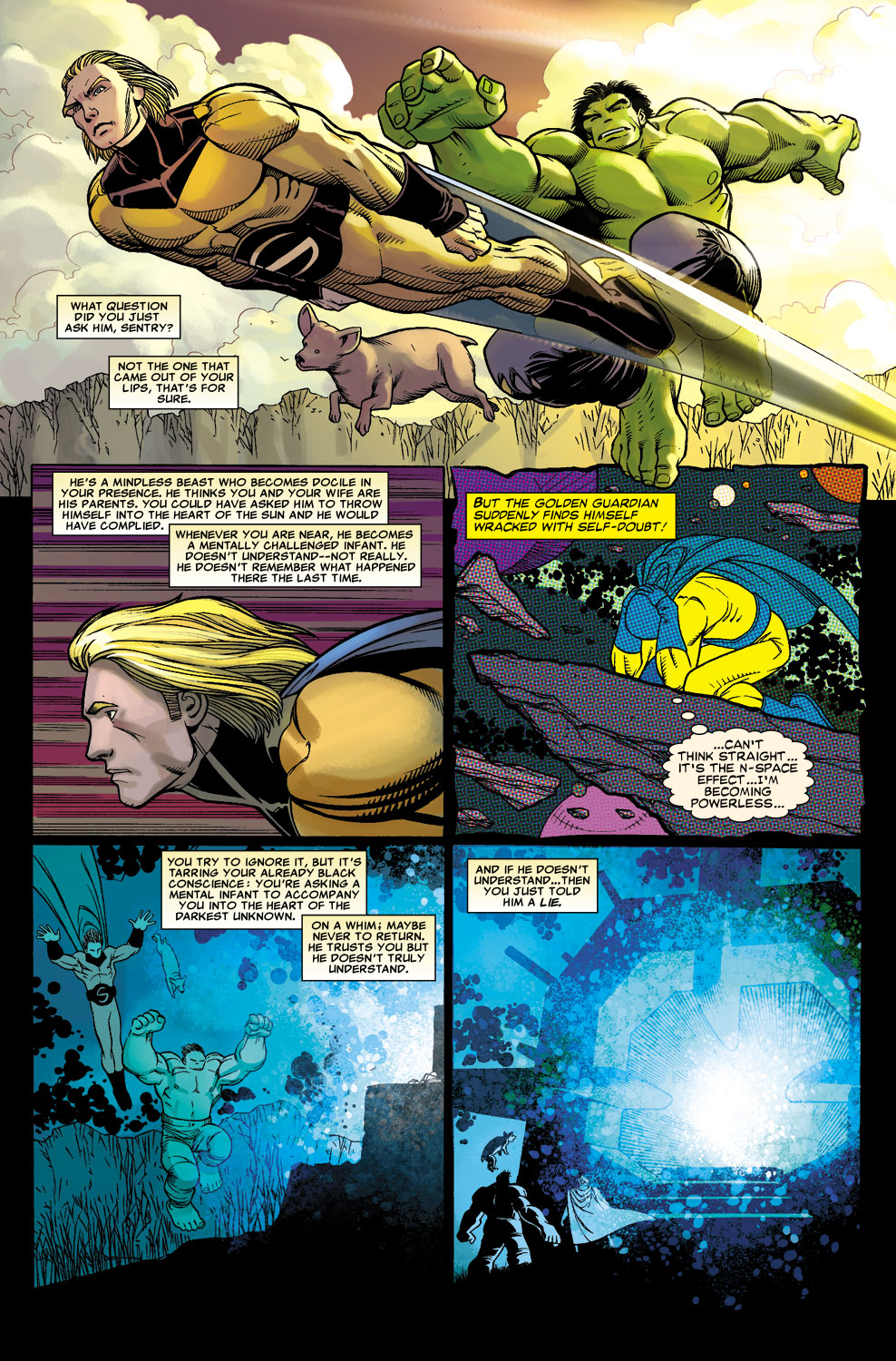 Read online Sentry (2006) comic -  Issue #3 - 7