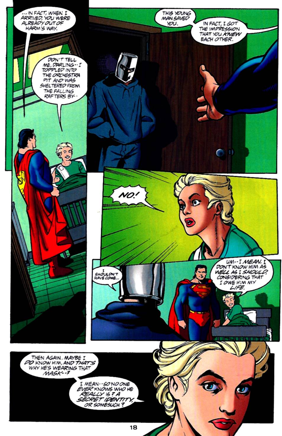 Read online Adventures of Superman (1987) comic -  Issue #540 - 19