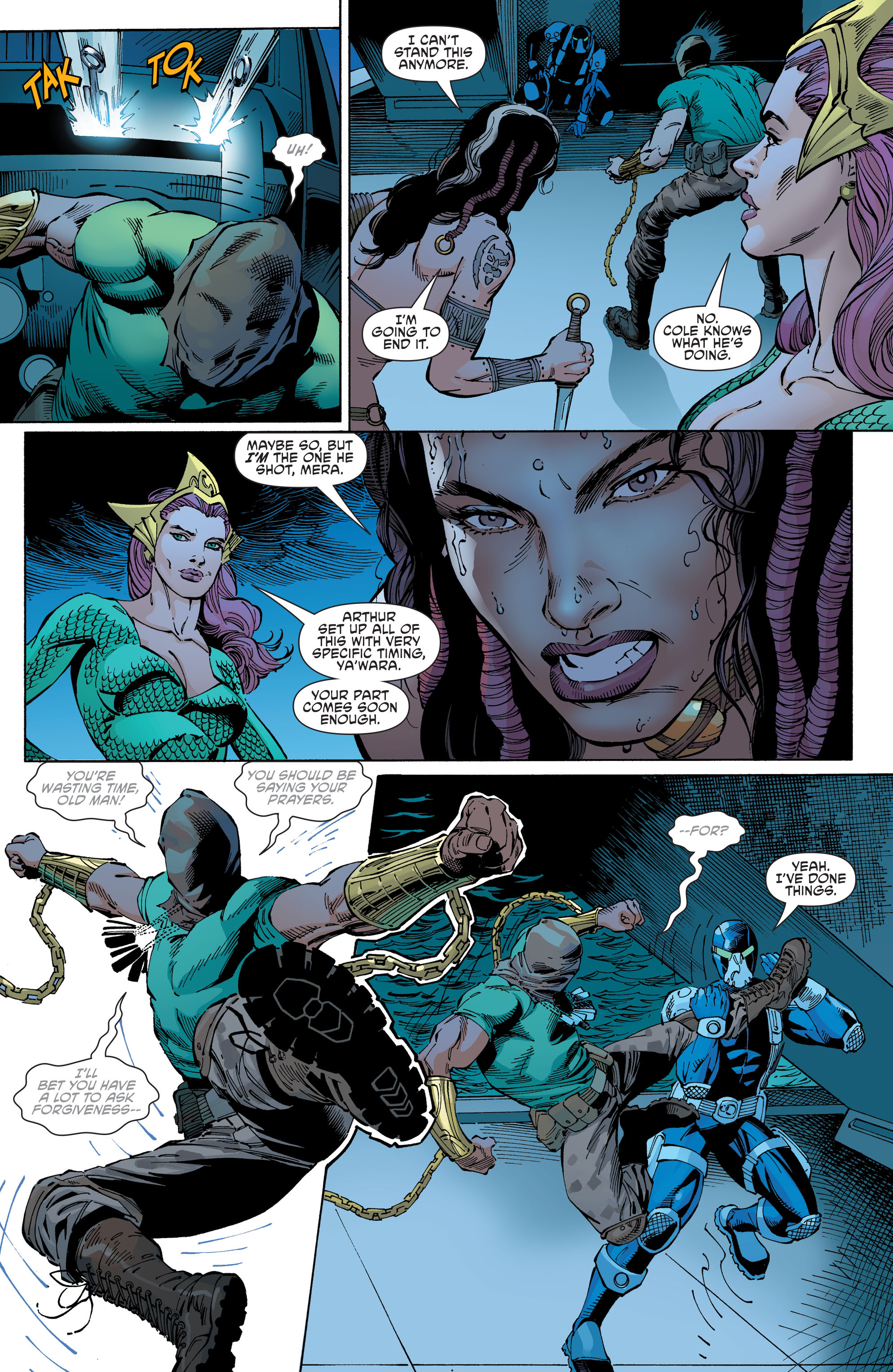 Read online Aquaman and the Others comic -  Issue #10 - 12