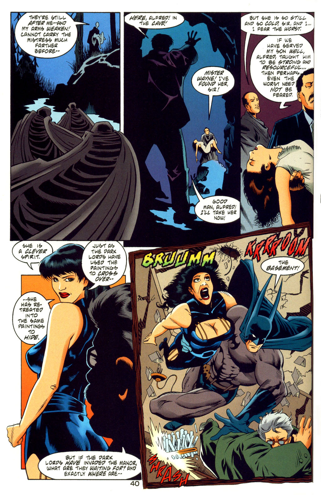 Read online Batman: Haunted Gotham comic -  Issue #4 - 40