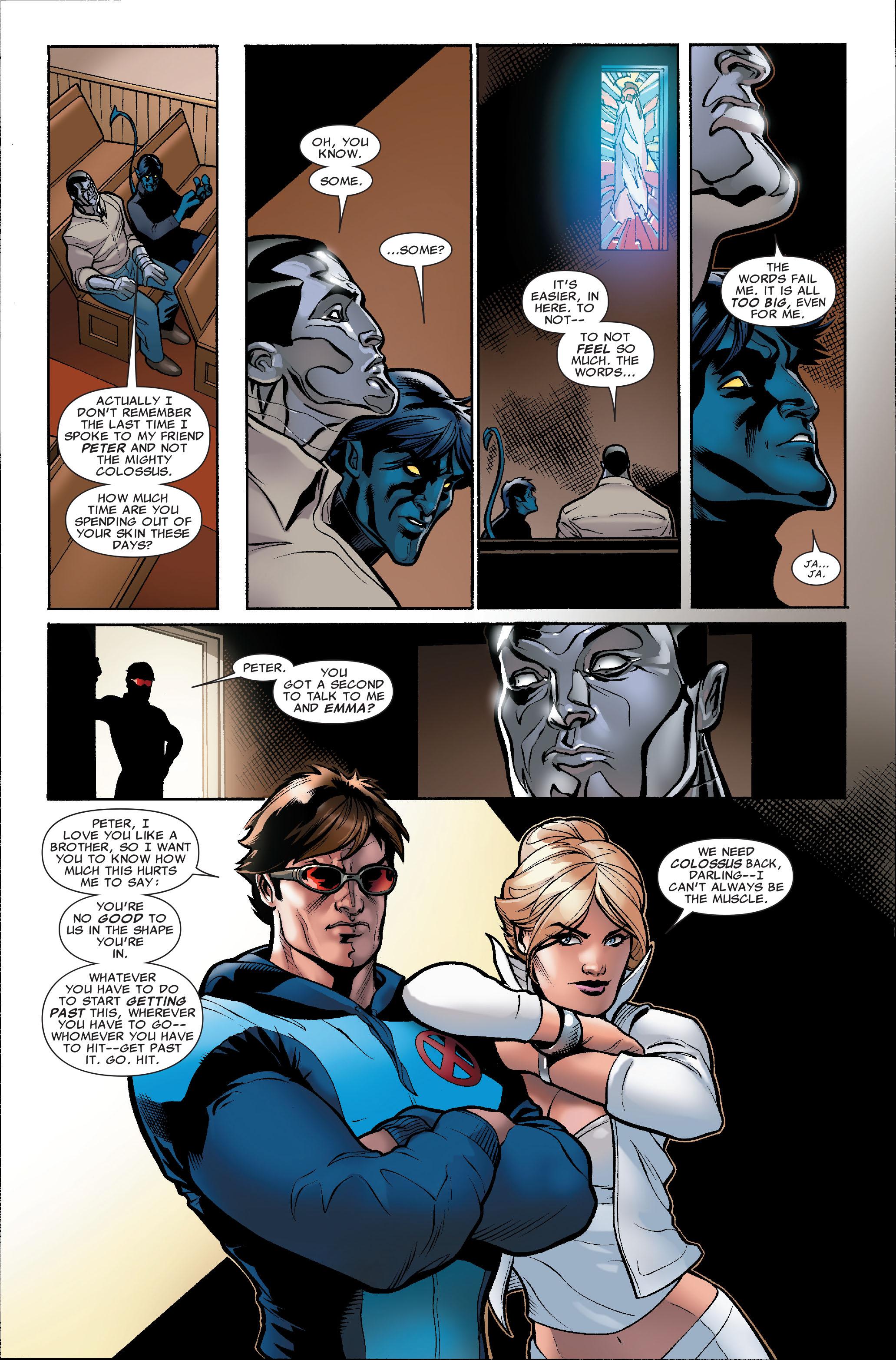 Read online Uncanny X-Men (1963) comic -  Issue #504 - 7