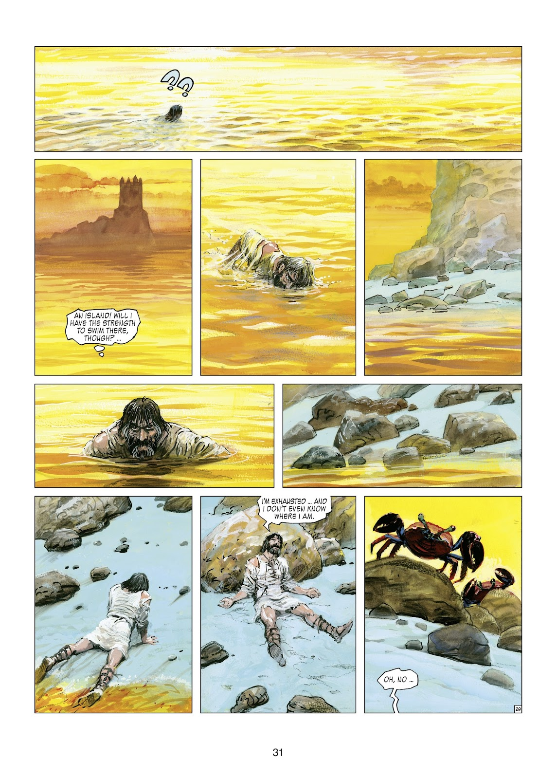 Read online Thorgal comic -  Issue #21 - 33