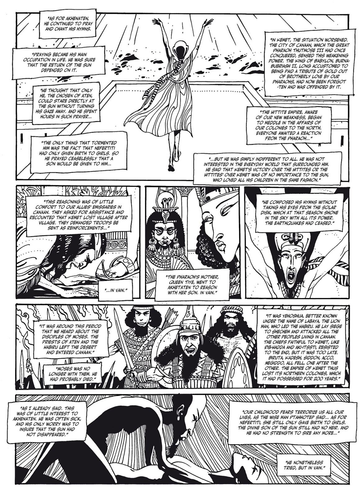 Read online The Egyptian Princesses comic -  Issue # TPB 1 (Part 3) - 4