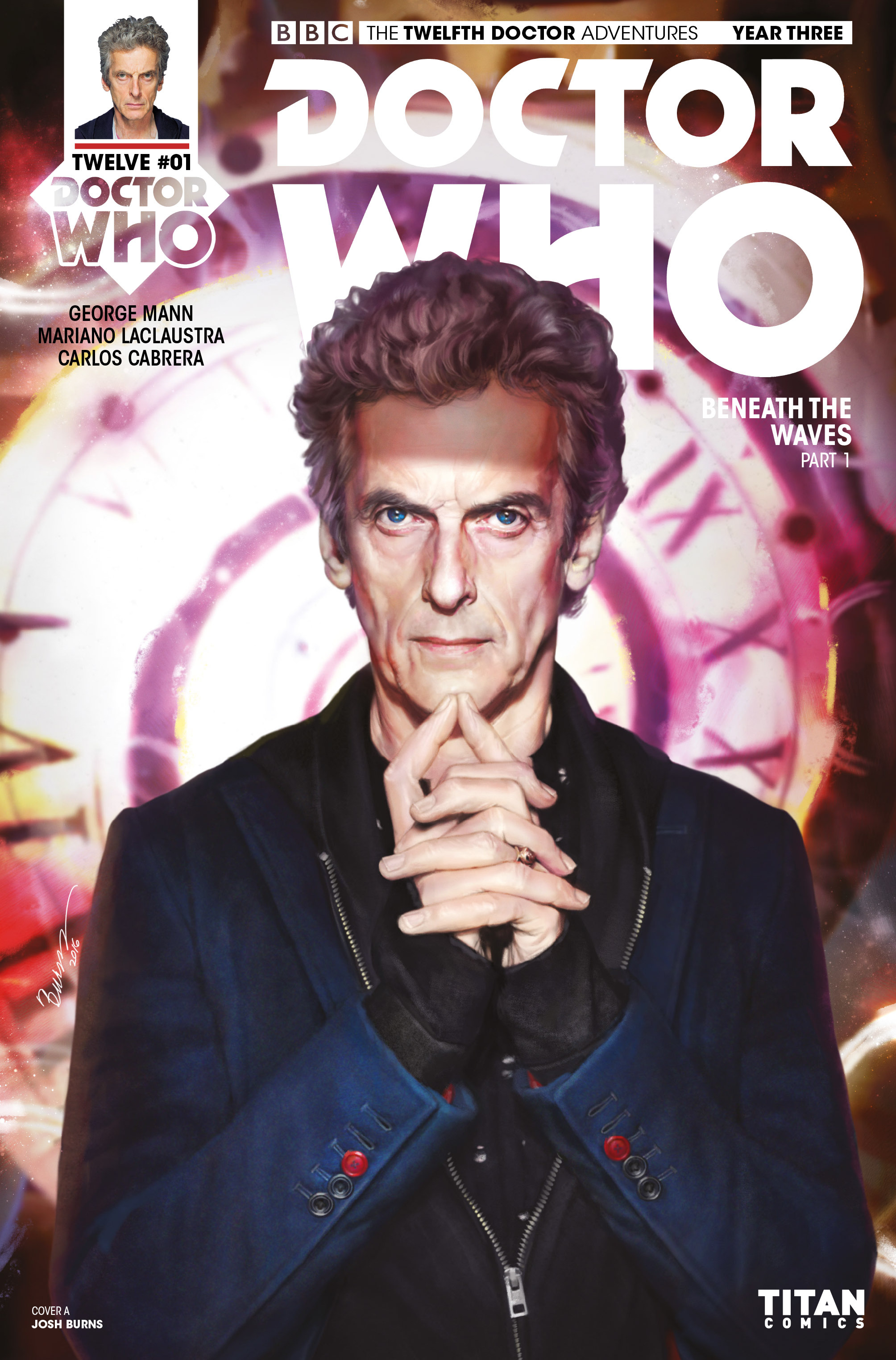 Doctor Who: The Twelfth Doctor Year Three 1 Page 1
