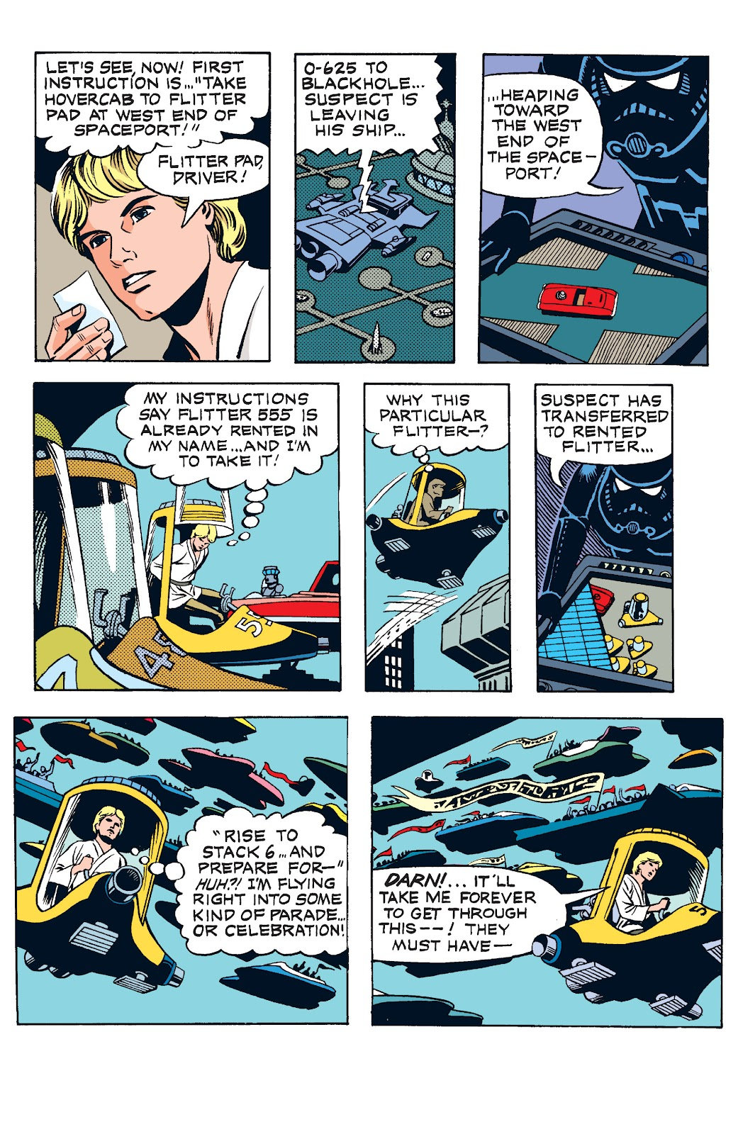 Read online Star Wars Legends: The Newspaper Strips - Epic Collection comic -  Issue # TPB (Part 1) - 97