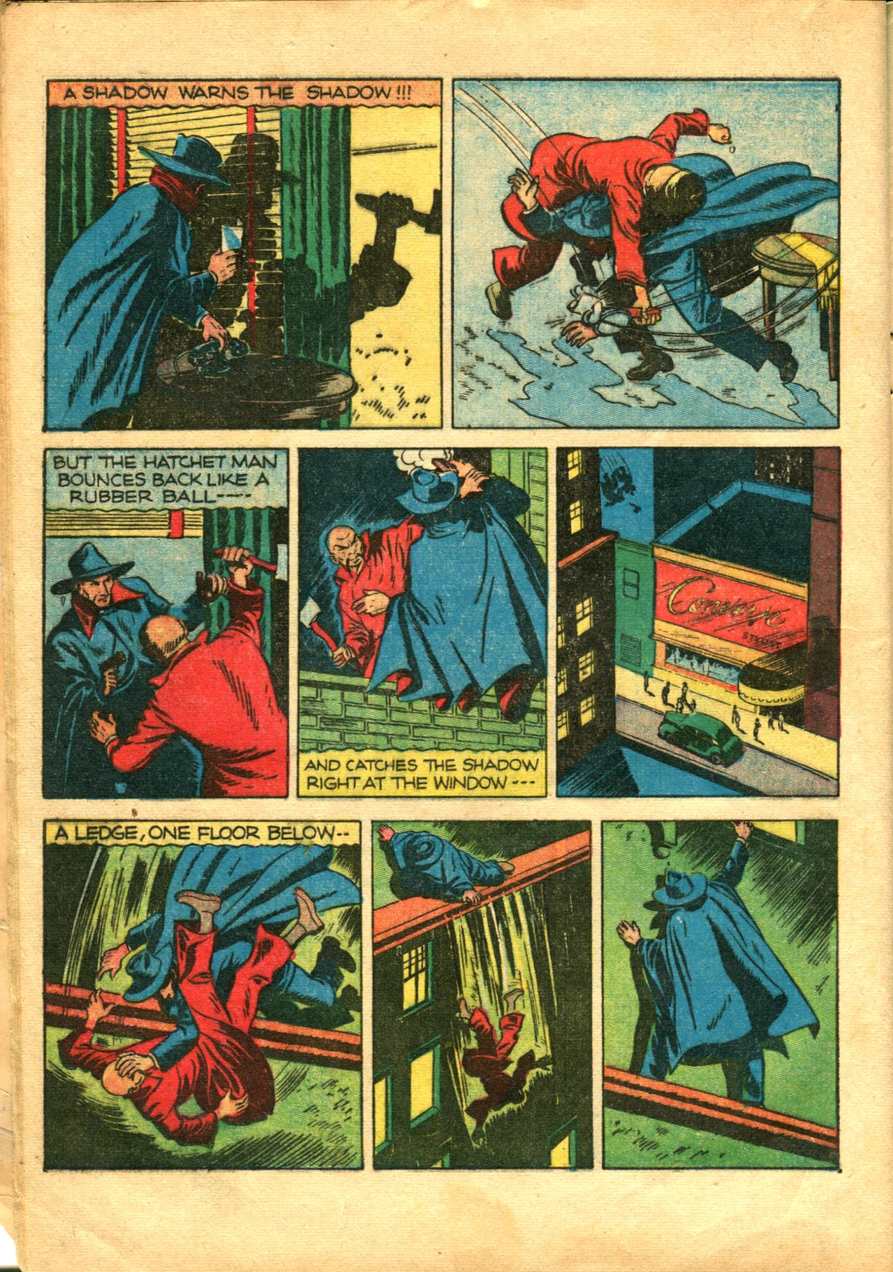 Read online Shadow Comics comic -  Issue #10 - 12