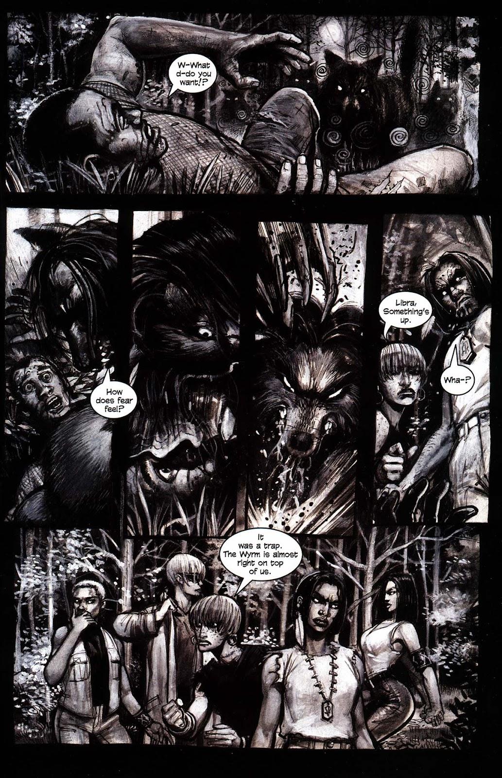 Read online Werewolf the Apocalypse comic -  Issue # Black Furies - 23