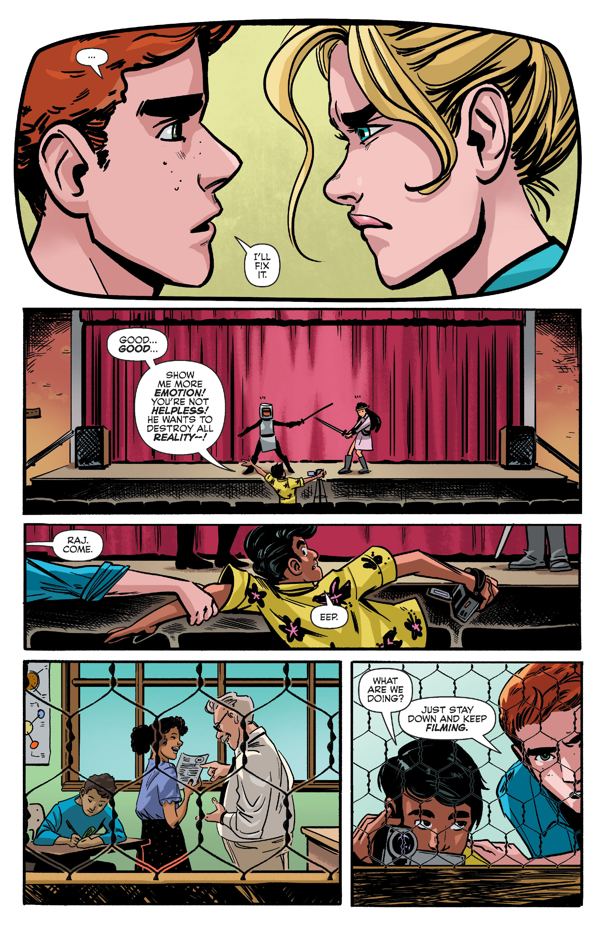 Read online Archie (2015) comic -  Issue #10 - 15