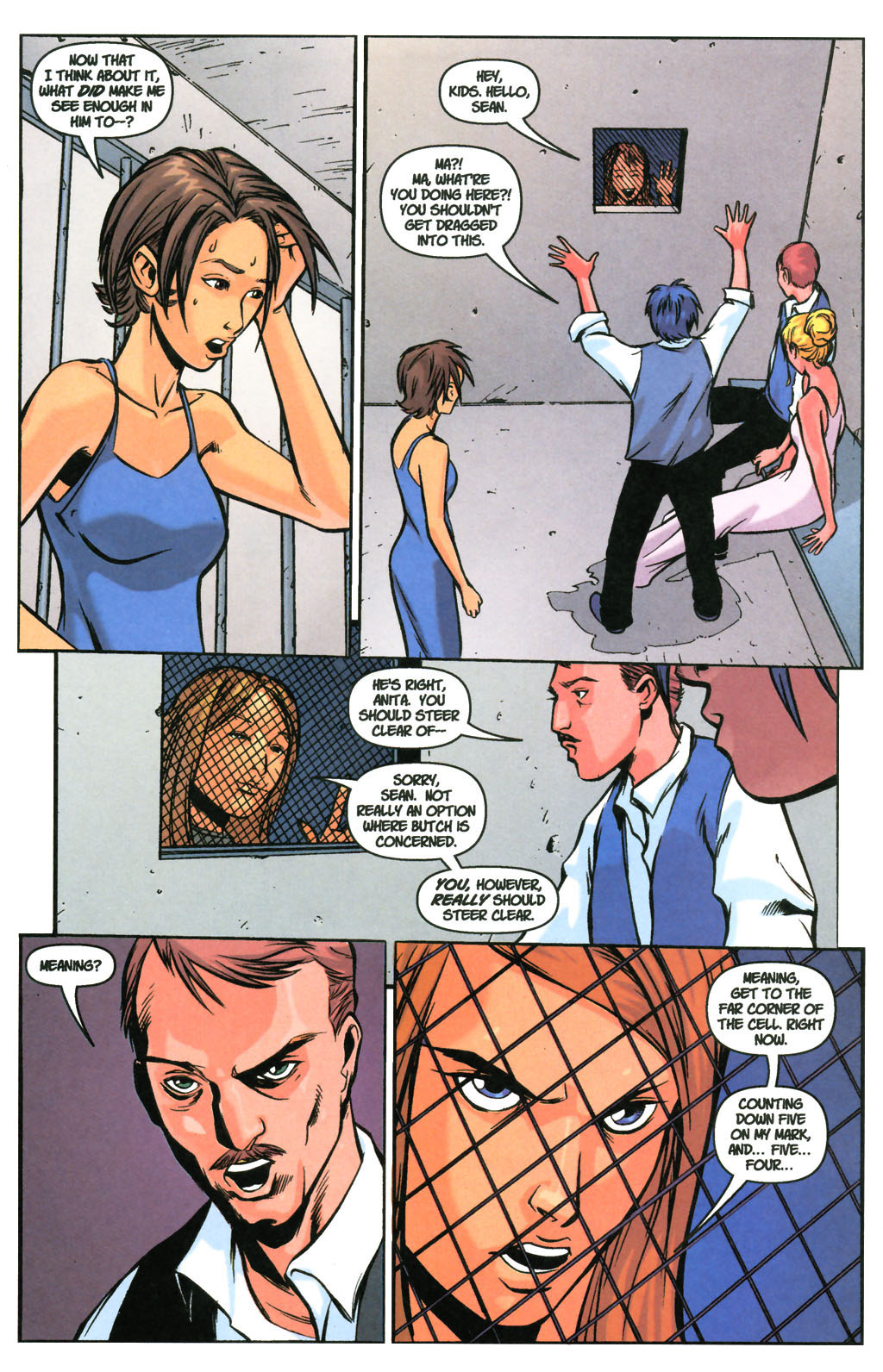 Read online SpyBoy: Final Exam comic -  Issue #3 - 21