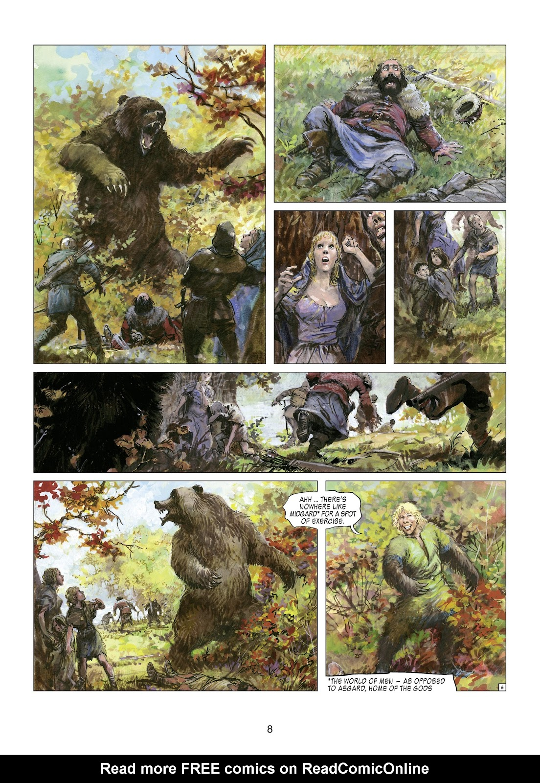 Read online Thorgal comic -  Issue #21 - 10