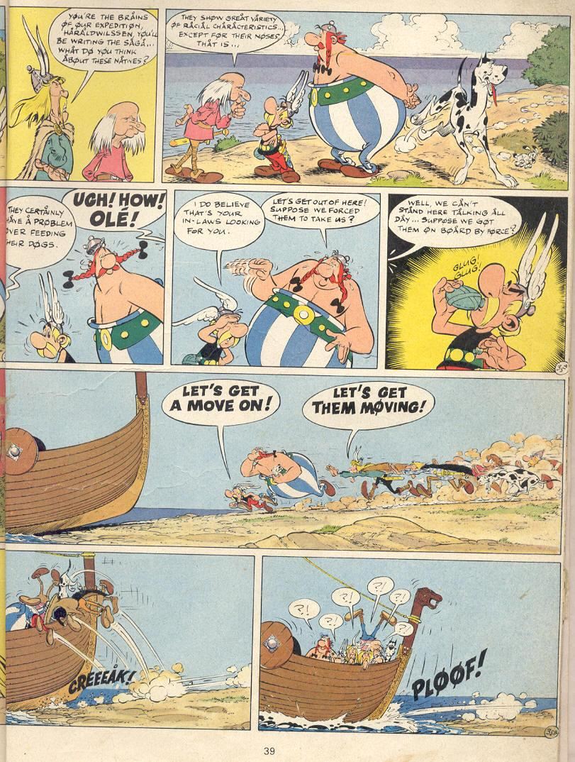 Read online Asterix comic -  Issue #22 - 36
