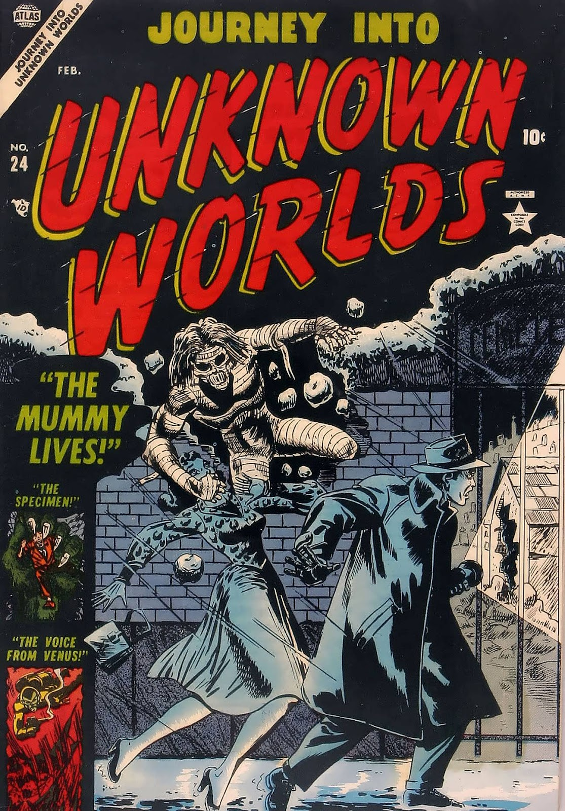 Journey Into Unknown Worlds (1950) issue 24 - Page 1