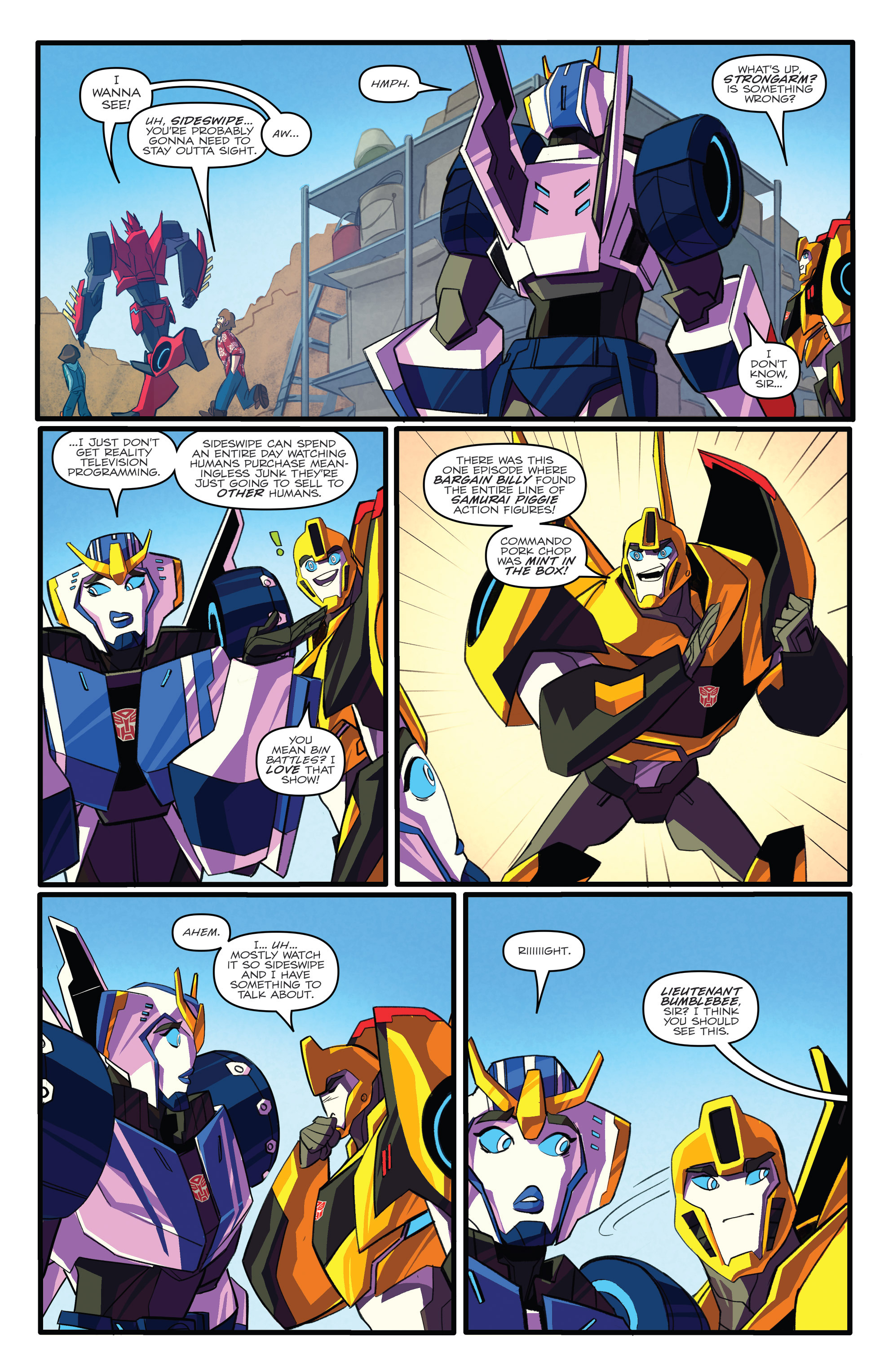 Read online Transformers: Robots In Disguise (2015) comic -  Issue #3 - 6