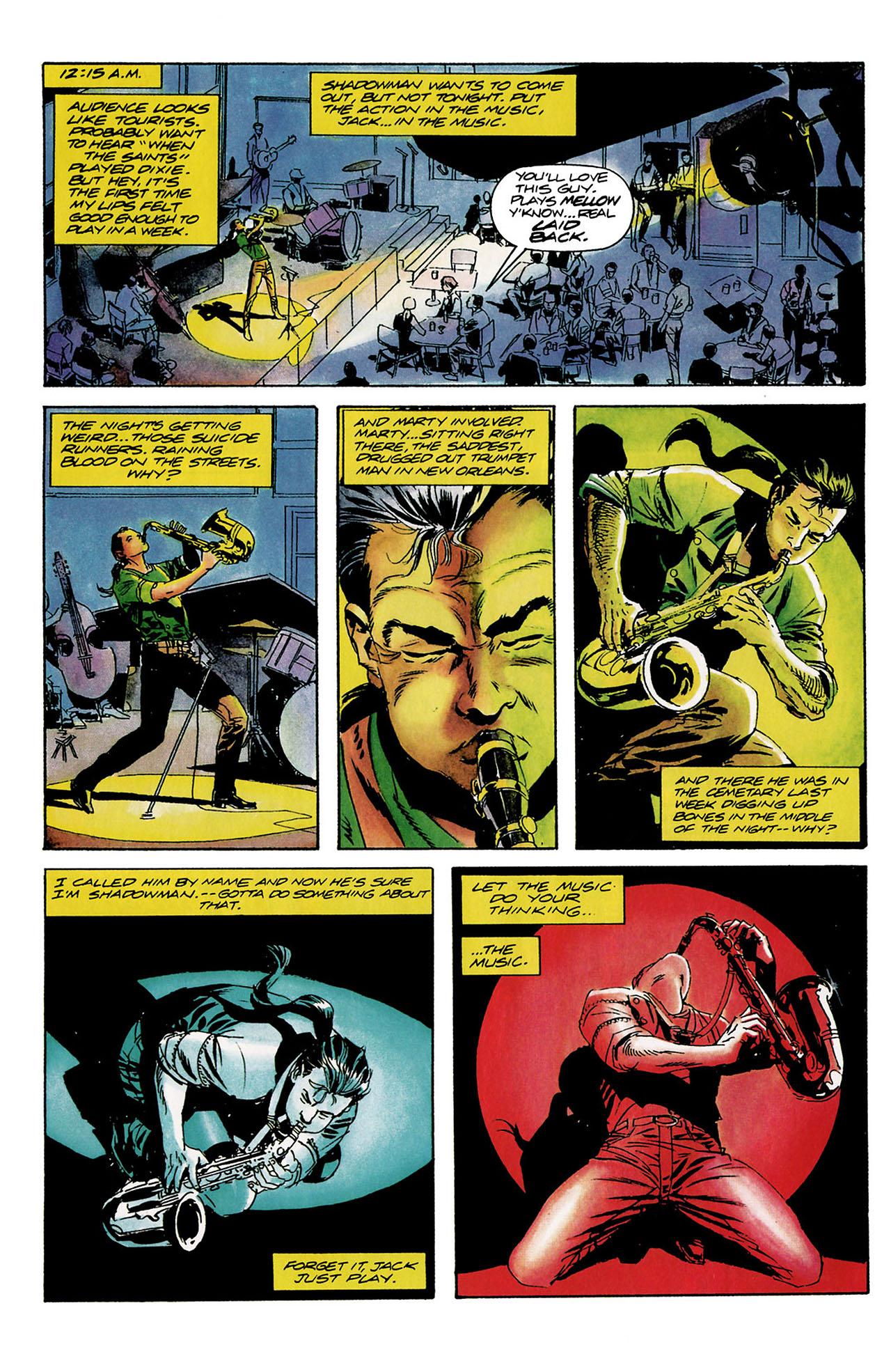 Read online Shadowman (1992) comic -  Issue #8 - 7