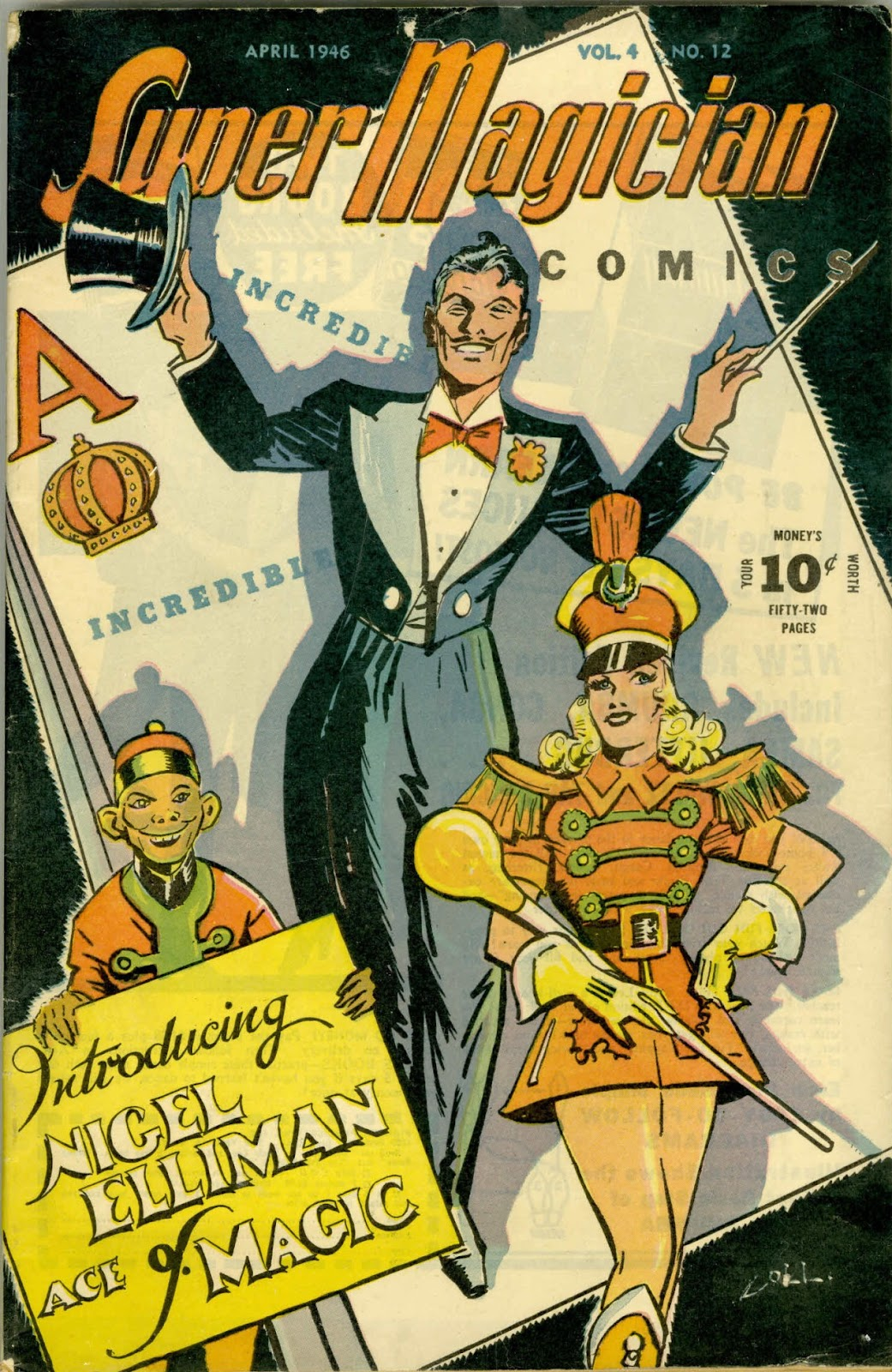 Read online Super-Magician Comics comic -  Issue #48 - 1
