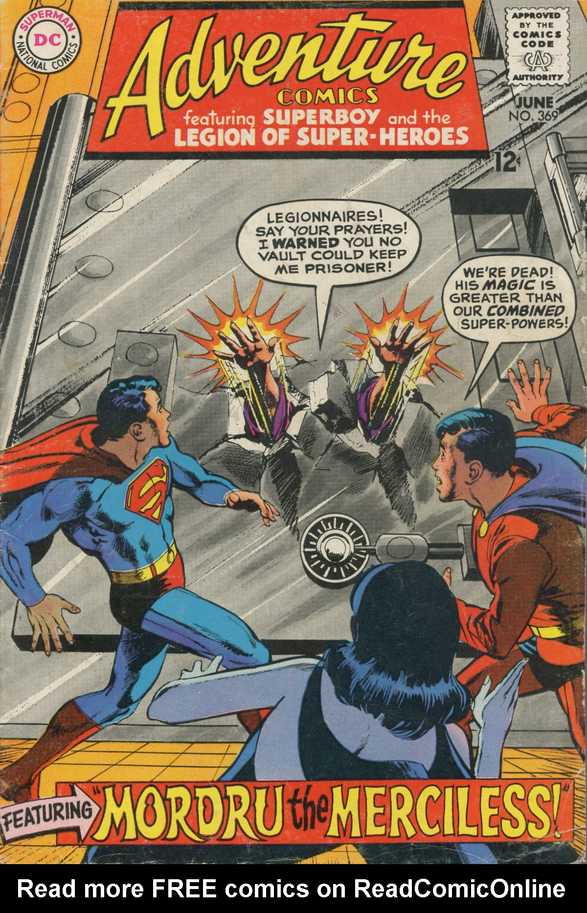 Read online Adventure Comics (1938) comic -  Issue #369 - 1