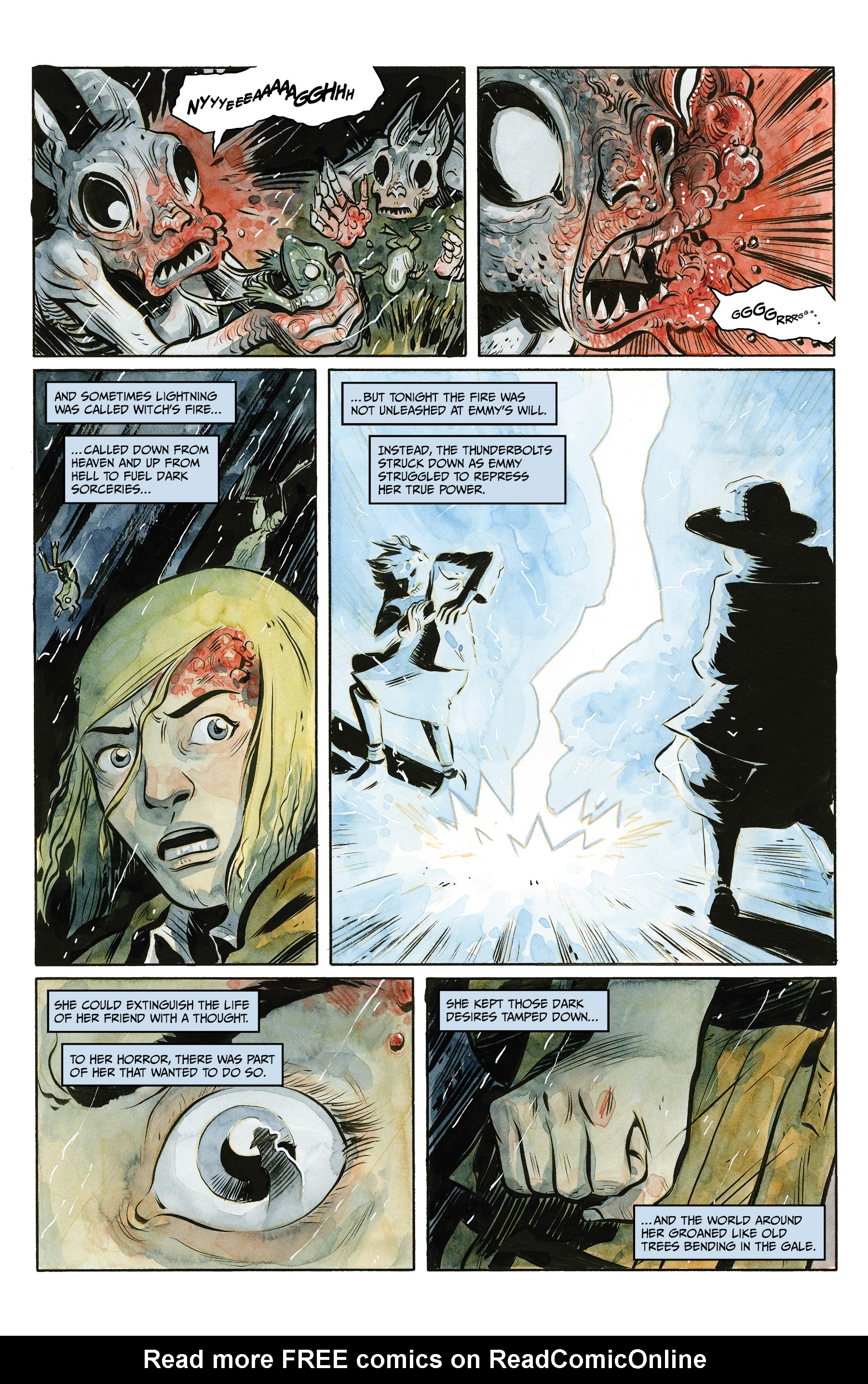 Read online Harrow County comic -  Issue #24 - 5