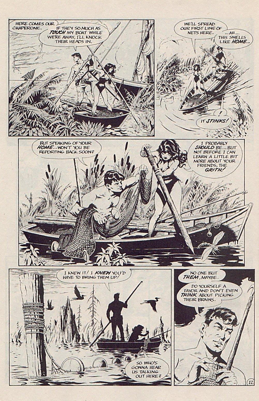 Read online Xenozoic Tales comic -  Issue #5 - 15