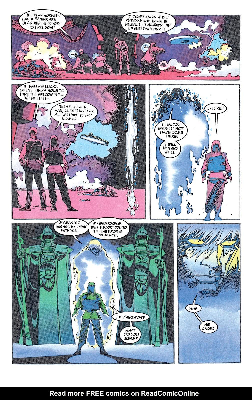 Read online Star Wars: Dark Empire Trilogy comic -  Issue # TPB (Part 1) - 98