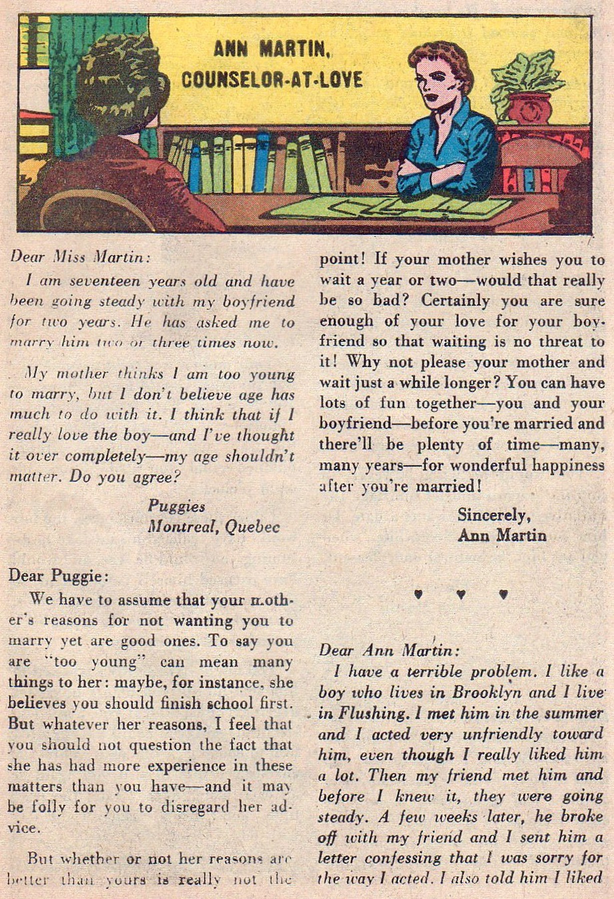 Read online Secret Hearts comic -  Issue #61 - 25