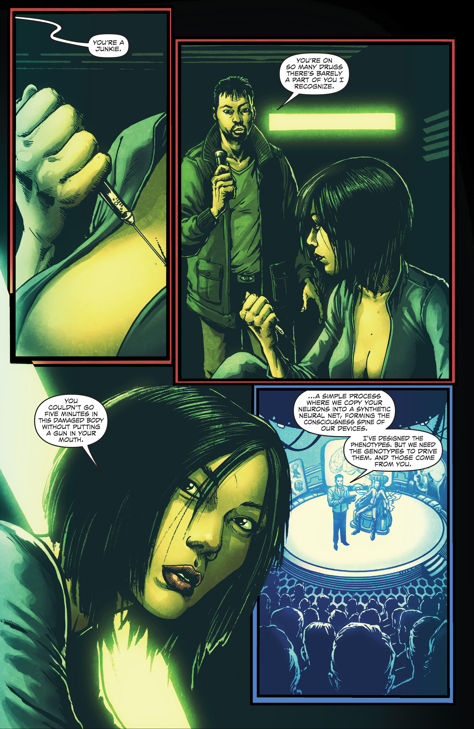 Read online Ballistic (2013) comic -  Issue #4 - 9