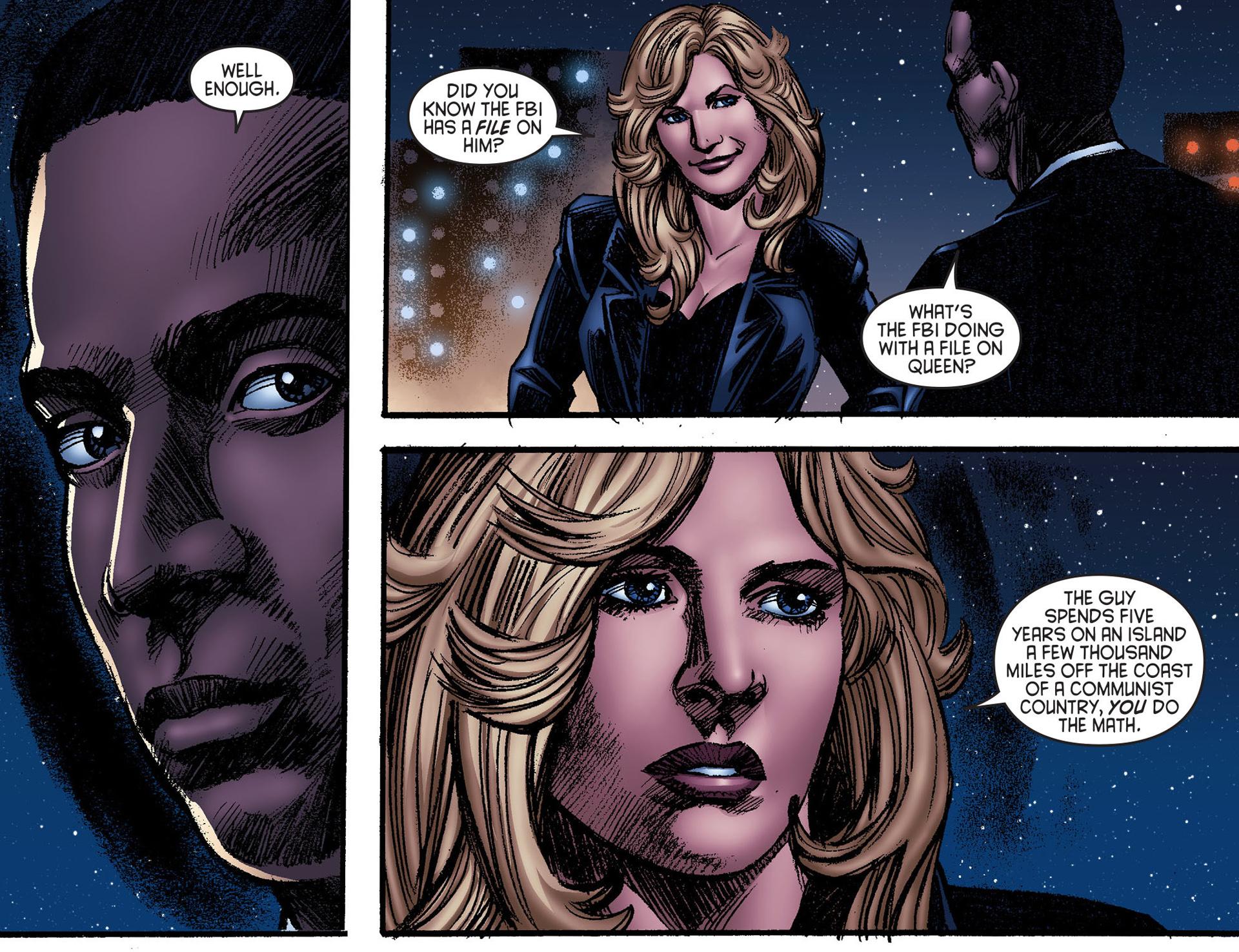 Read online Arrow [II] comic -  Issue #25 - 11
