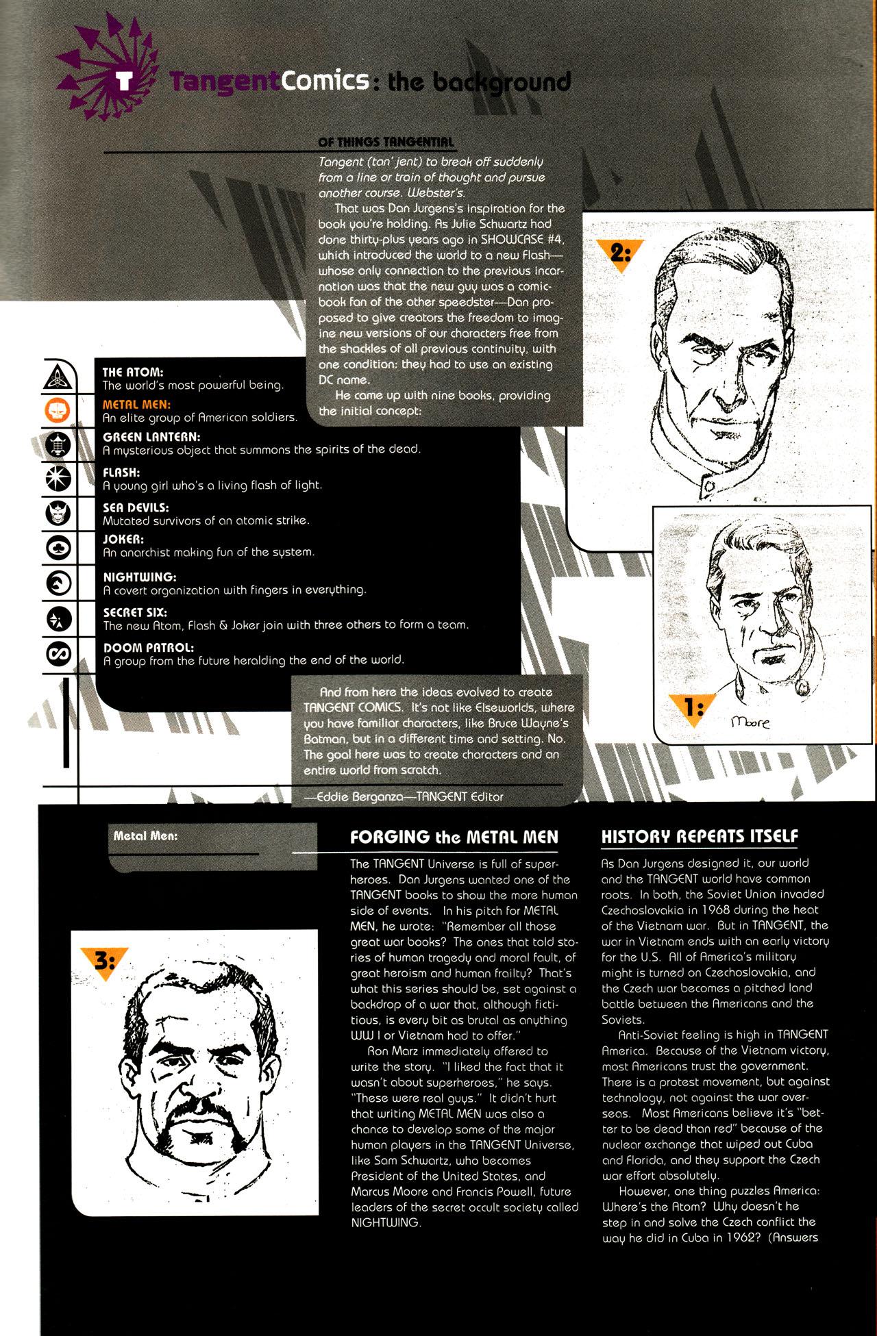 Read online Tangent Comics/ Metal Men comic -  Issue # Full - 38